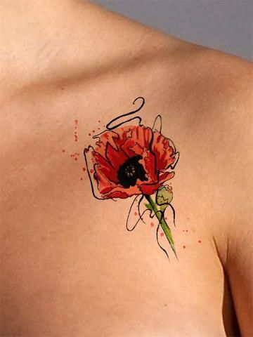 Flower Tattoos Beautiful Flower Arrangements And Flower Gardens