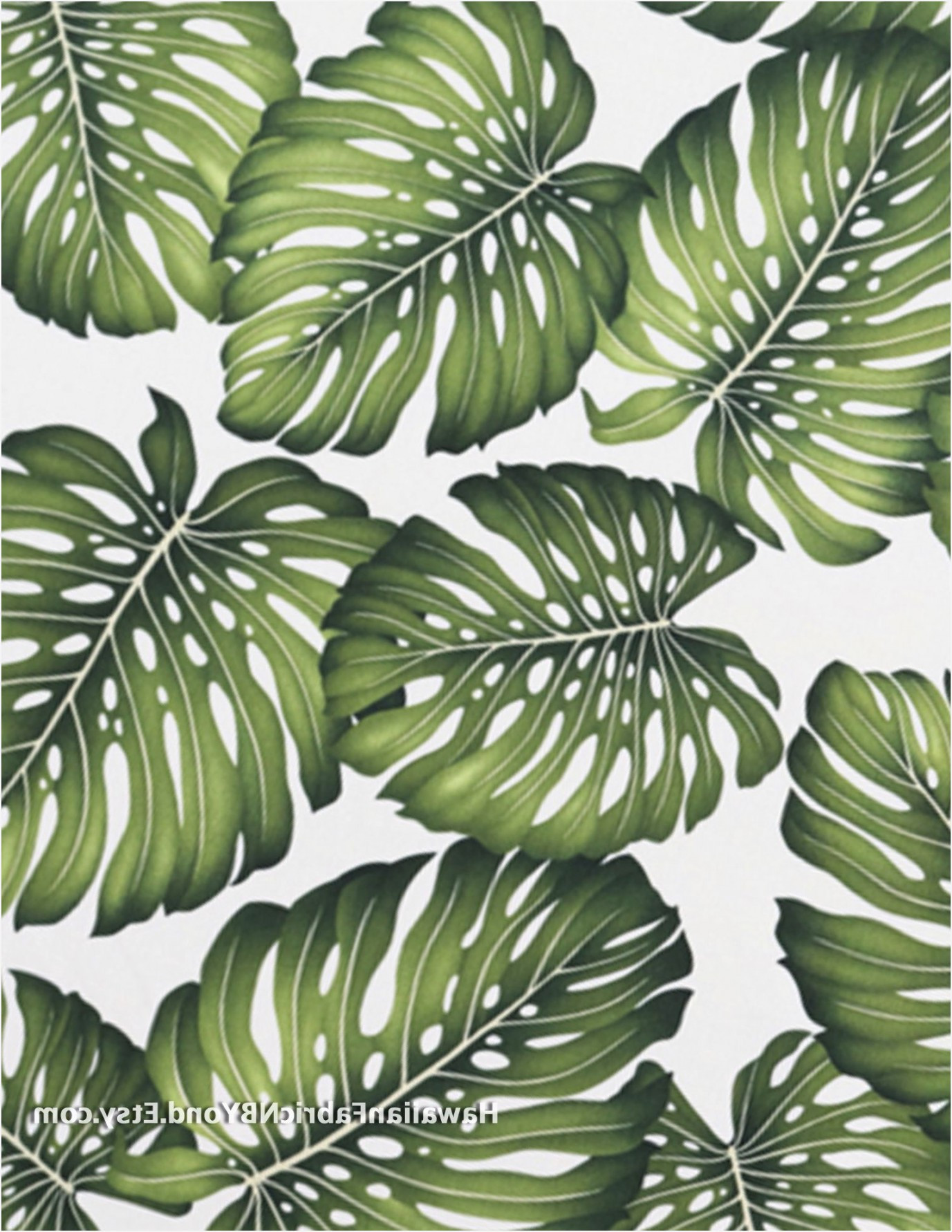 Tropical Upholstery Fabric Inspirational Tropical Leaf Fabric Print Monstera Leaf In Beautiful