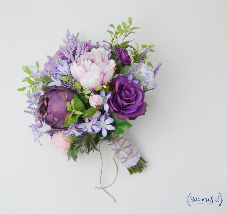 Boho Bouquet Purple Lavender Wildflower Bouquet Light Purple Scheme Lavender Flower Bouquet 40 Luxury
