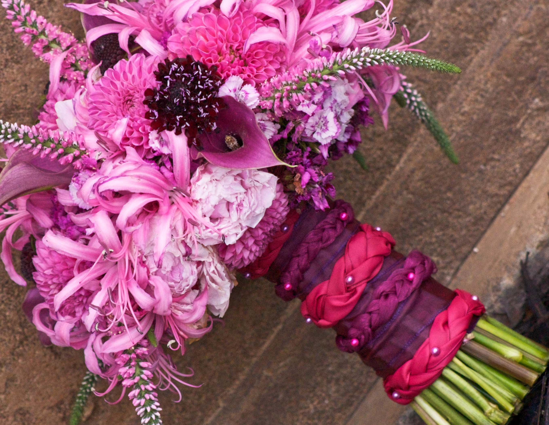 Wedding Blogs Bouquet Inspiration Nerine Lilies