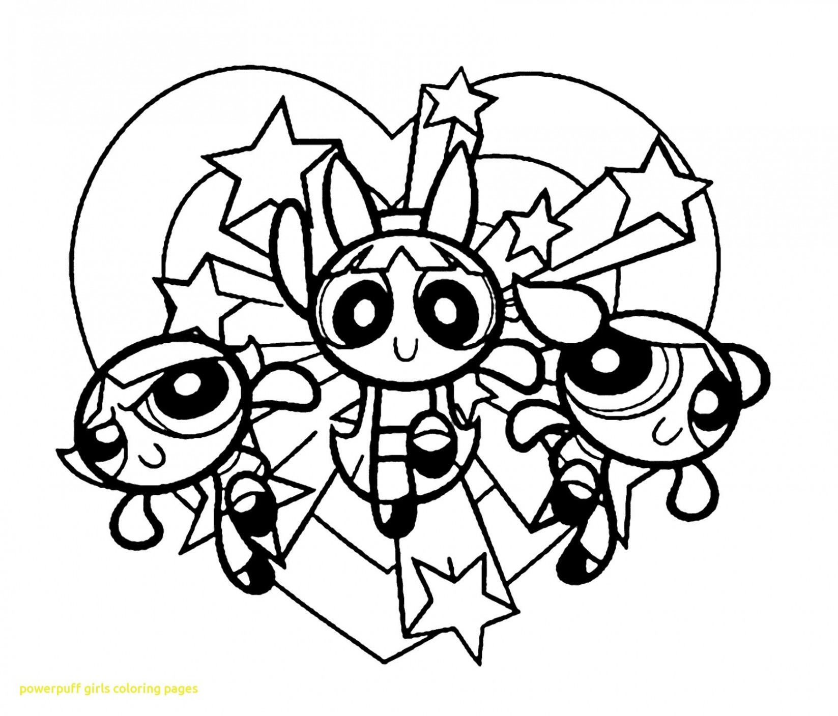 Powder Puff Girls Coloring Pages Printable Elegant Powerpuff Girls Z Coloring Pages with Fun Time and