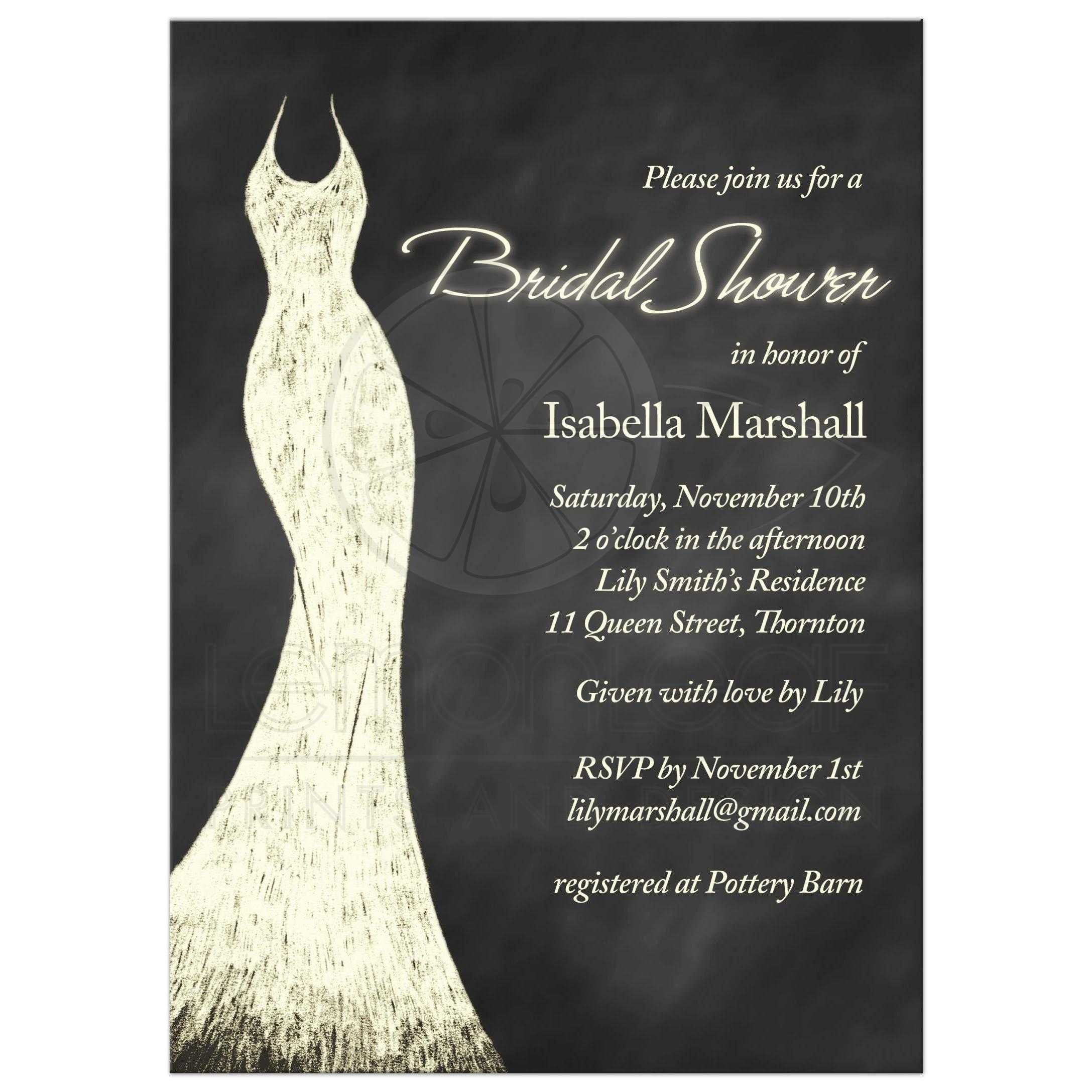 Free Bridal Shower Invitations Fresh Designs Diy Chalkboard Bridal Shower Invitations Plus Chalkboard Elegant Free