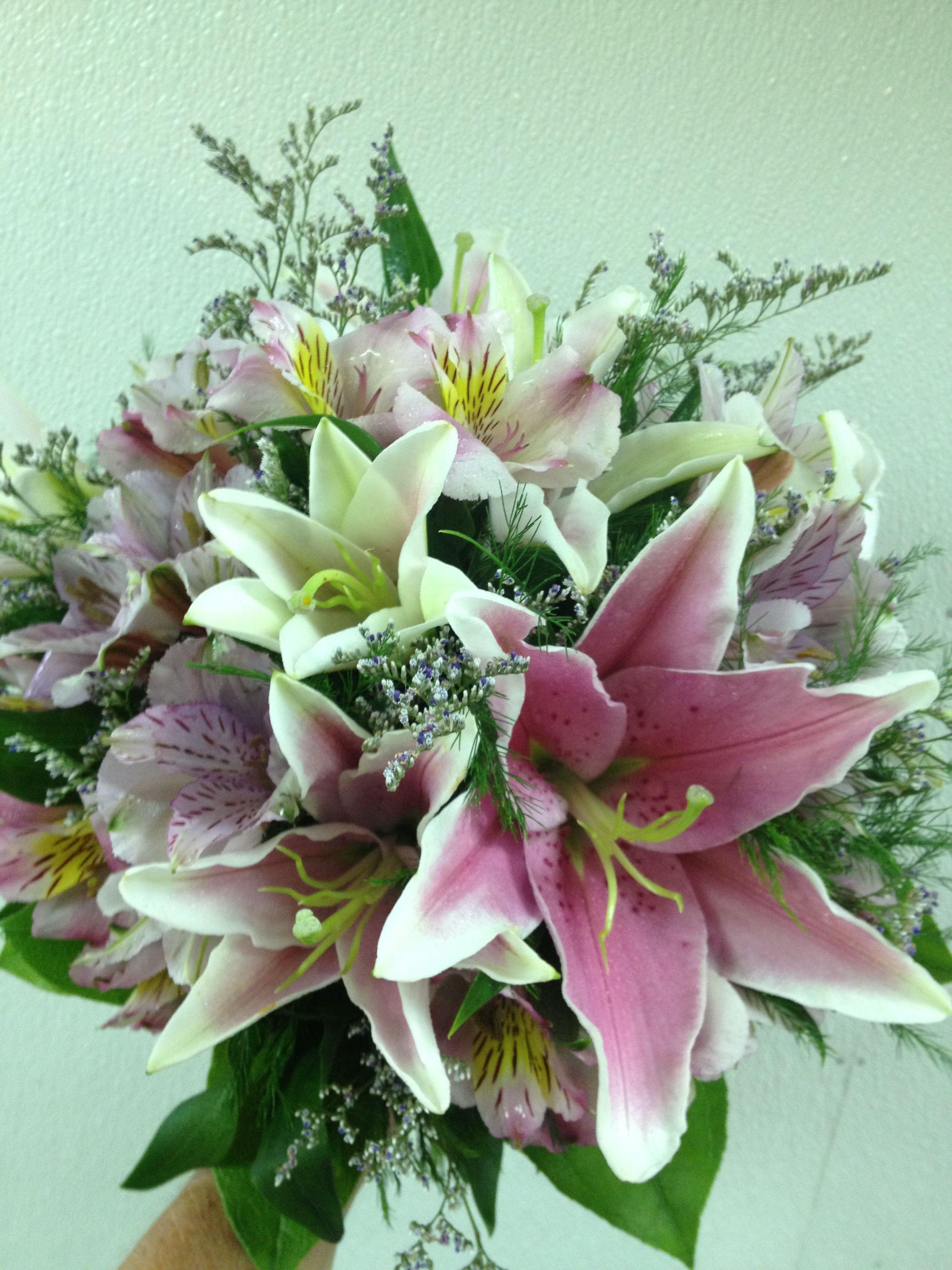 Fragrant Stargazer lillies