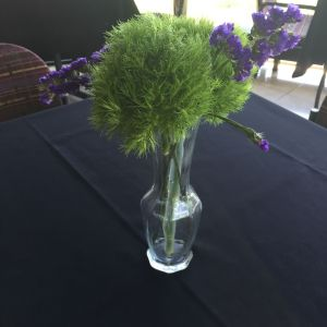 Statice Flower Lovely Sponsor Reception event Table Decorations Experiment In Dried