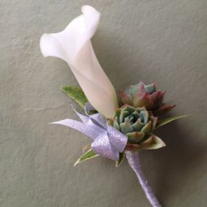 Wandflower Flower Best Of Calla Lily buttonhole Willow Floral Design Flowers