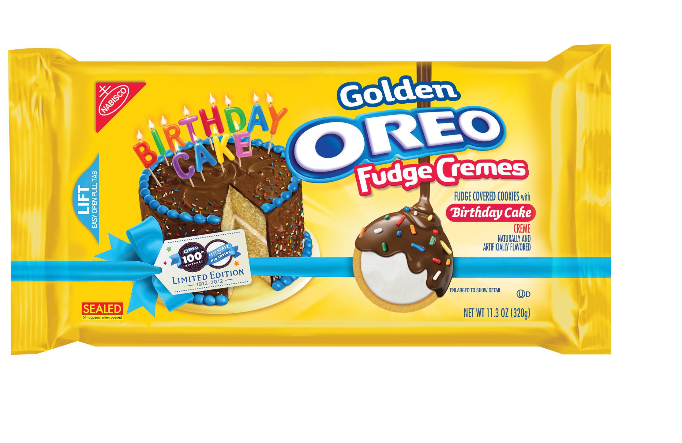 "Win Oreos 100th ""Birthday Cake"""