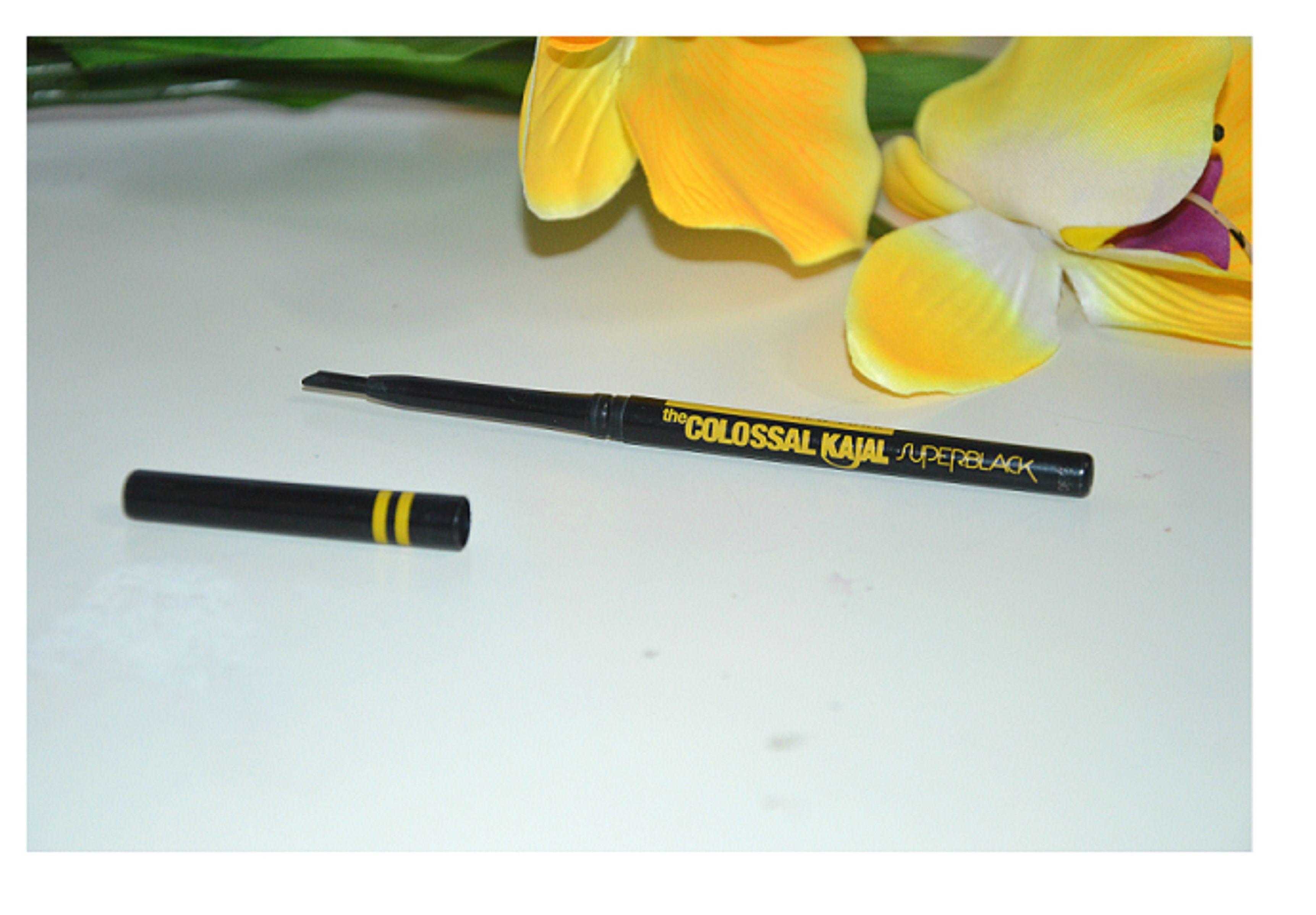 Royal bo Maybelline Colossal Kajal Pencil & Super Black Kajal Black 1 4 gm
