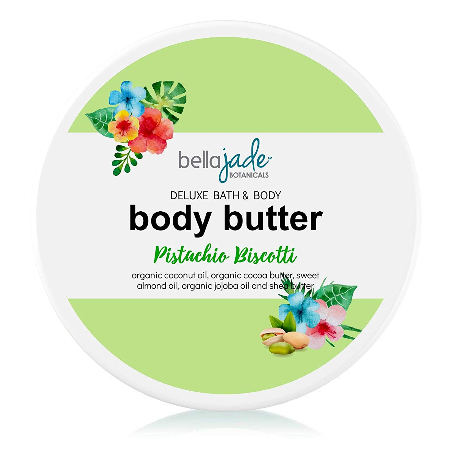 Amazon Whipped Body Butter Cream for Women Organic & Natural Dry Skin Moisturizer Lotion
