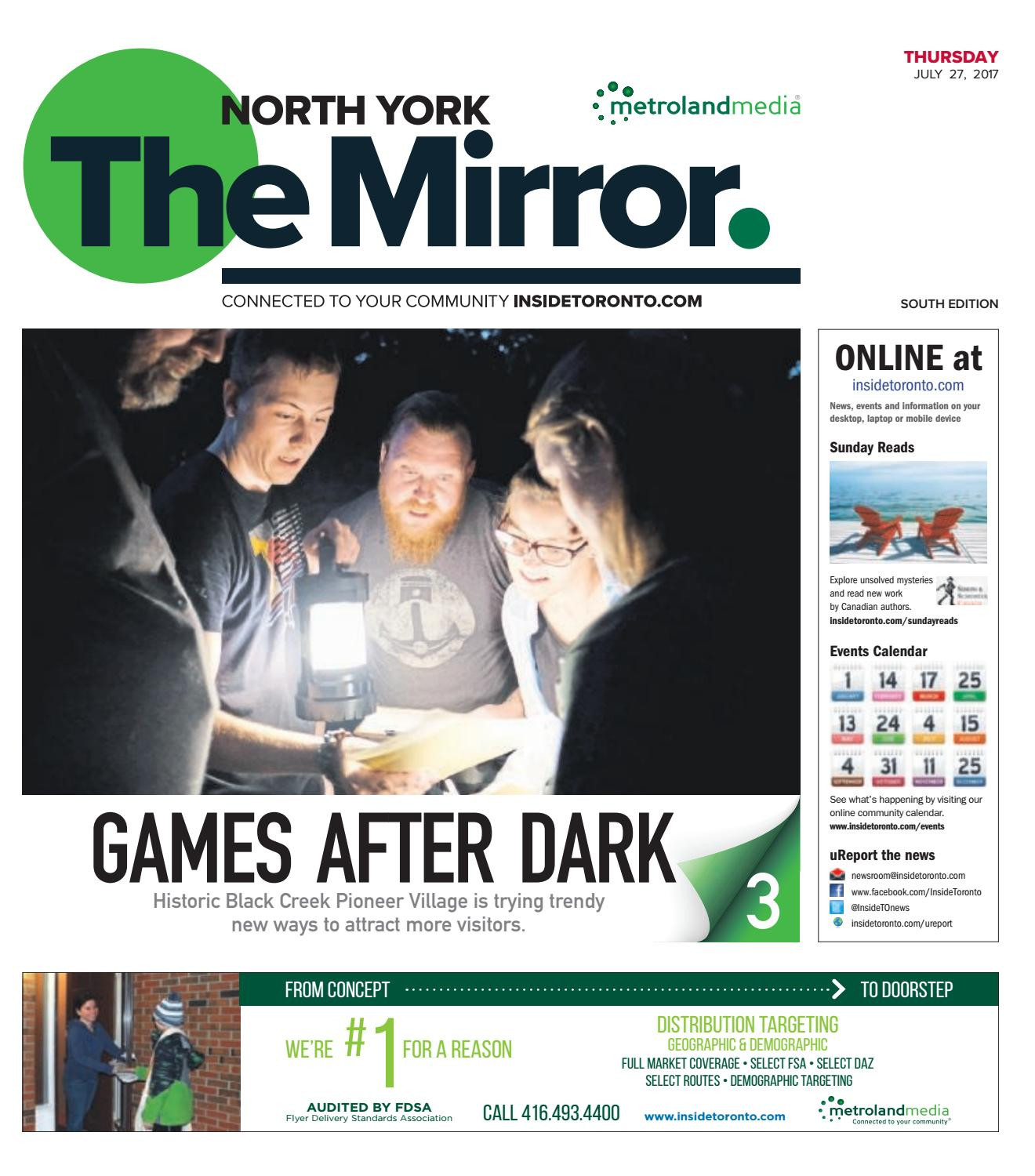 The North York Mirror South July 27 2017 by The North York Mirror issuu