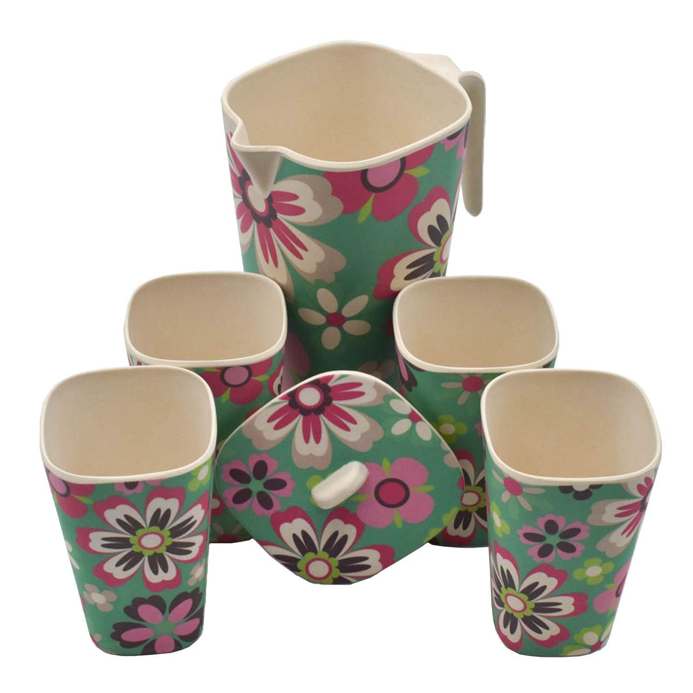 SHOPNJAZZ Ceramic Pitchers 1250 ml SHOPNJAZZ Ceramic Pitchers 1250 ml