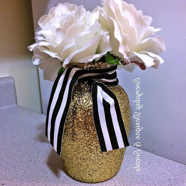 Black and Gold Flowers New Vases Baby Shower Flower Tutu Vase Centerpiece for A I 0d