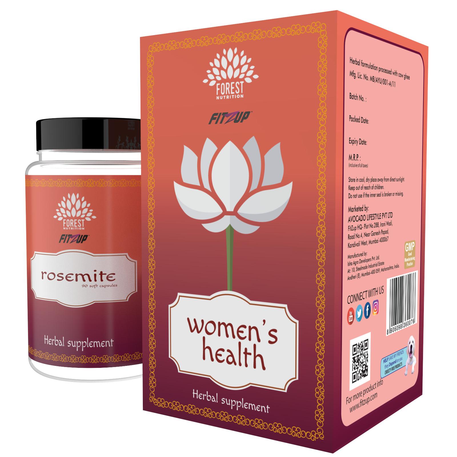 Fitzup Women s health 90 no s Vitamins Capsule