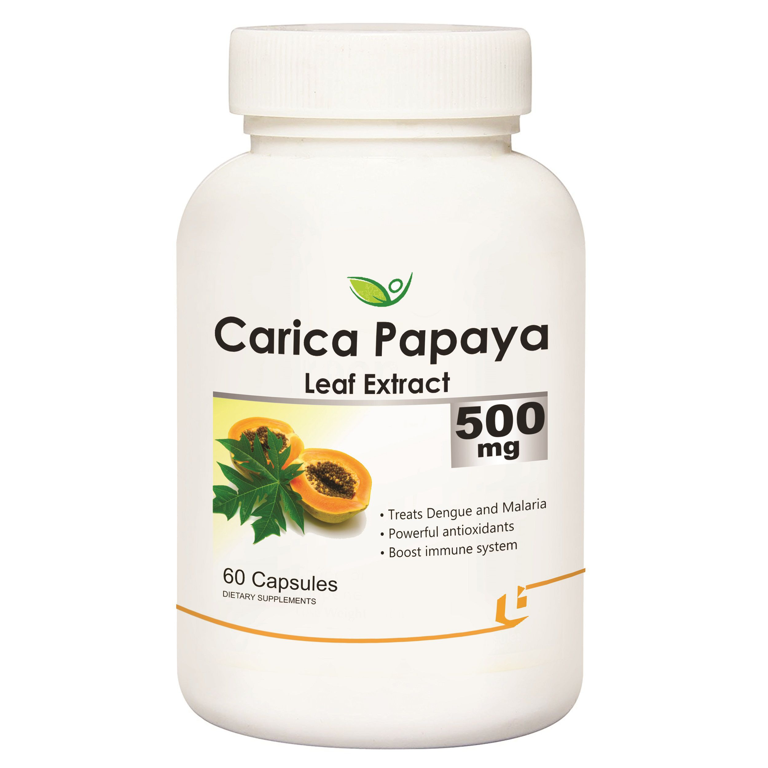 Biotrex Carica Papaya Leaf Extract Capsule 500 mg