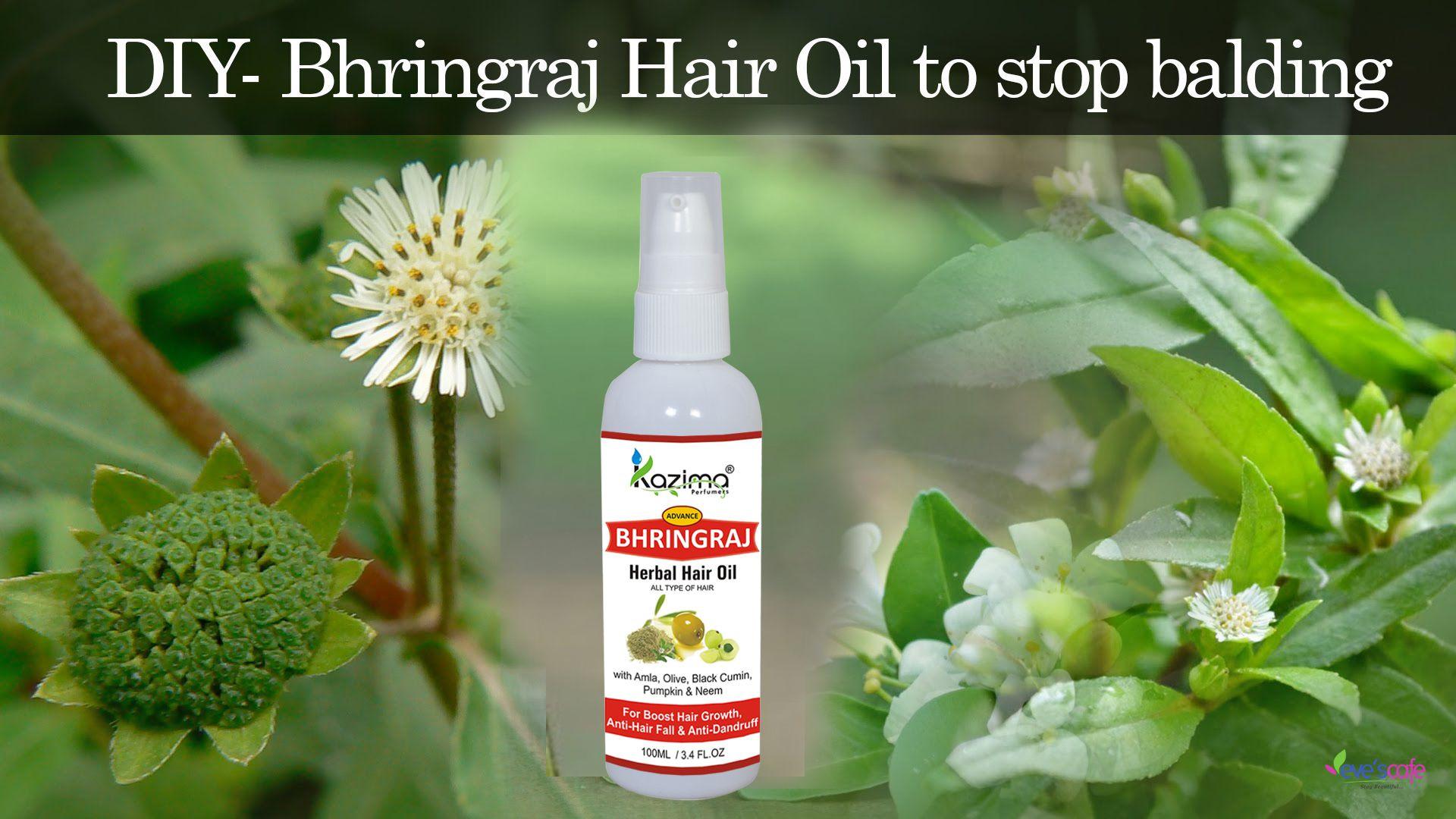KAZIMA BHRINGRAJ Herbal Hair Oil For Uni 100 ml