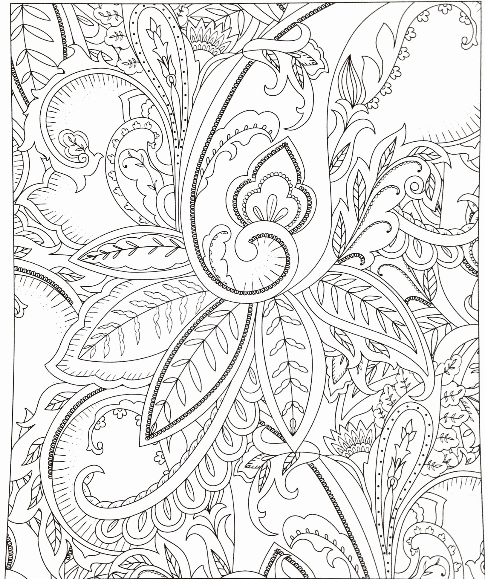 Black and White Flowers Art Lovely Black and White Flower Clipart Best Color Coloring Pages Lovely