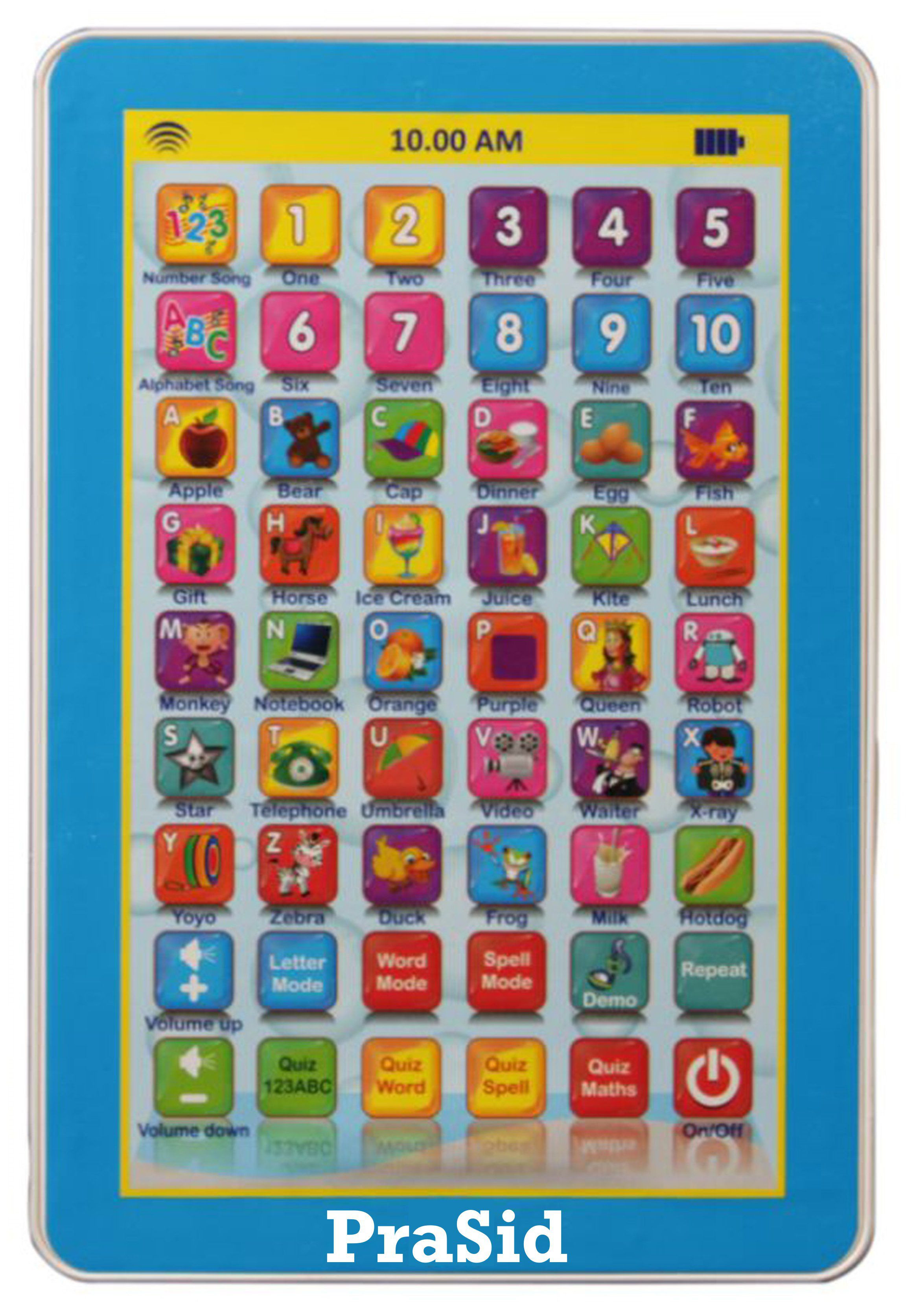 My Smart Pad Mini English Learning puter Touch Tablet Gift Play Toy For Kid