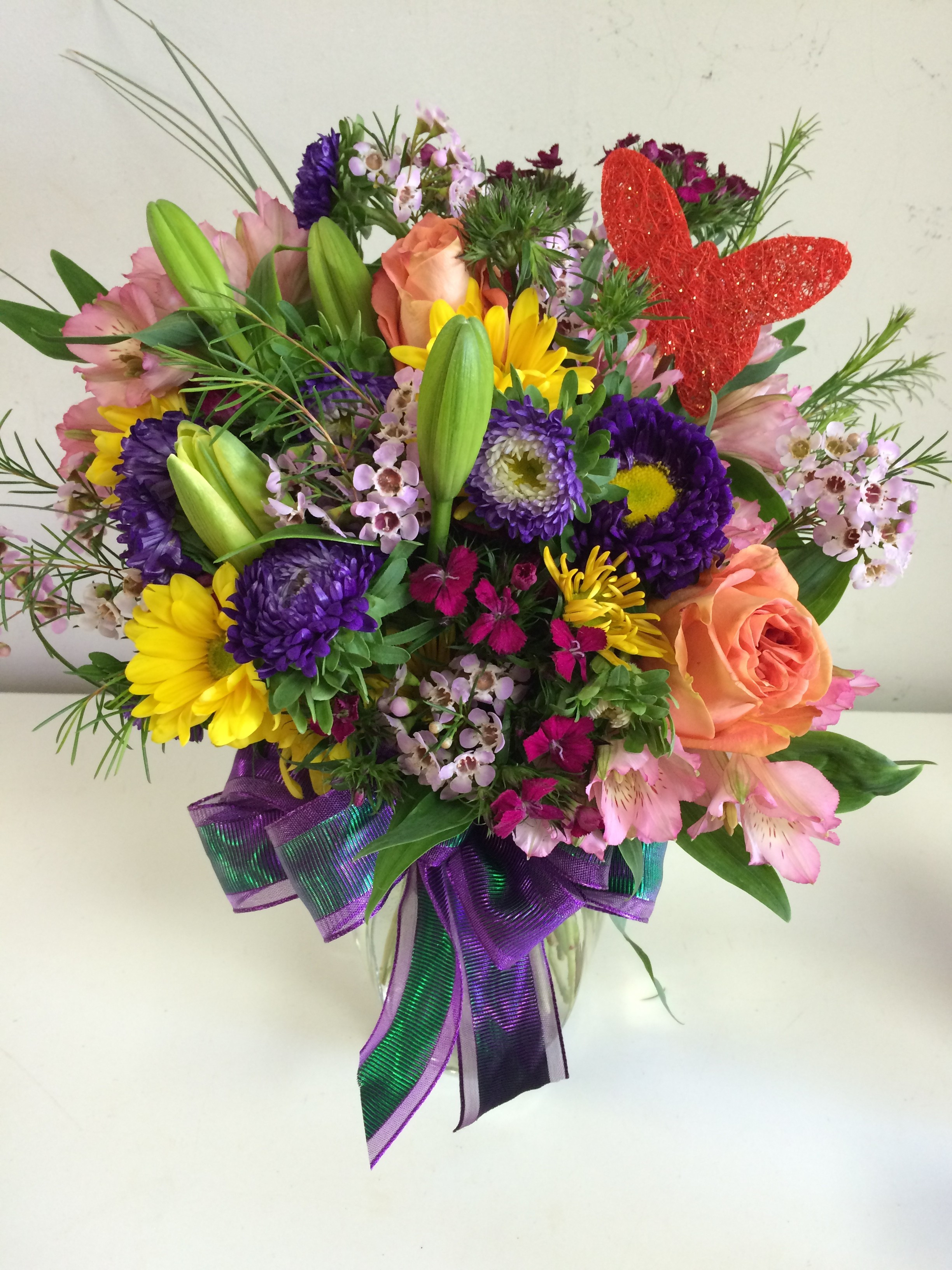 Day Of Flower Delivery Fresh Elk City Florist