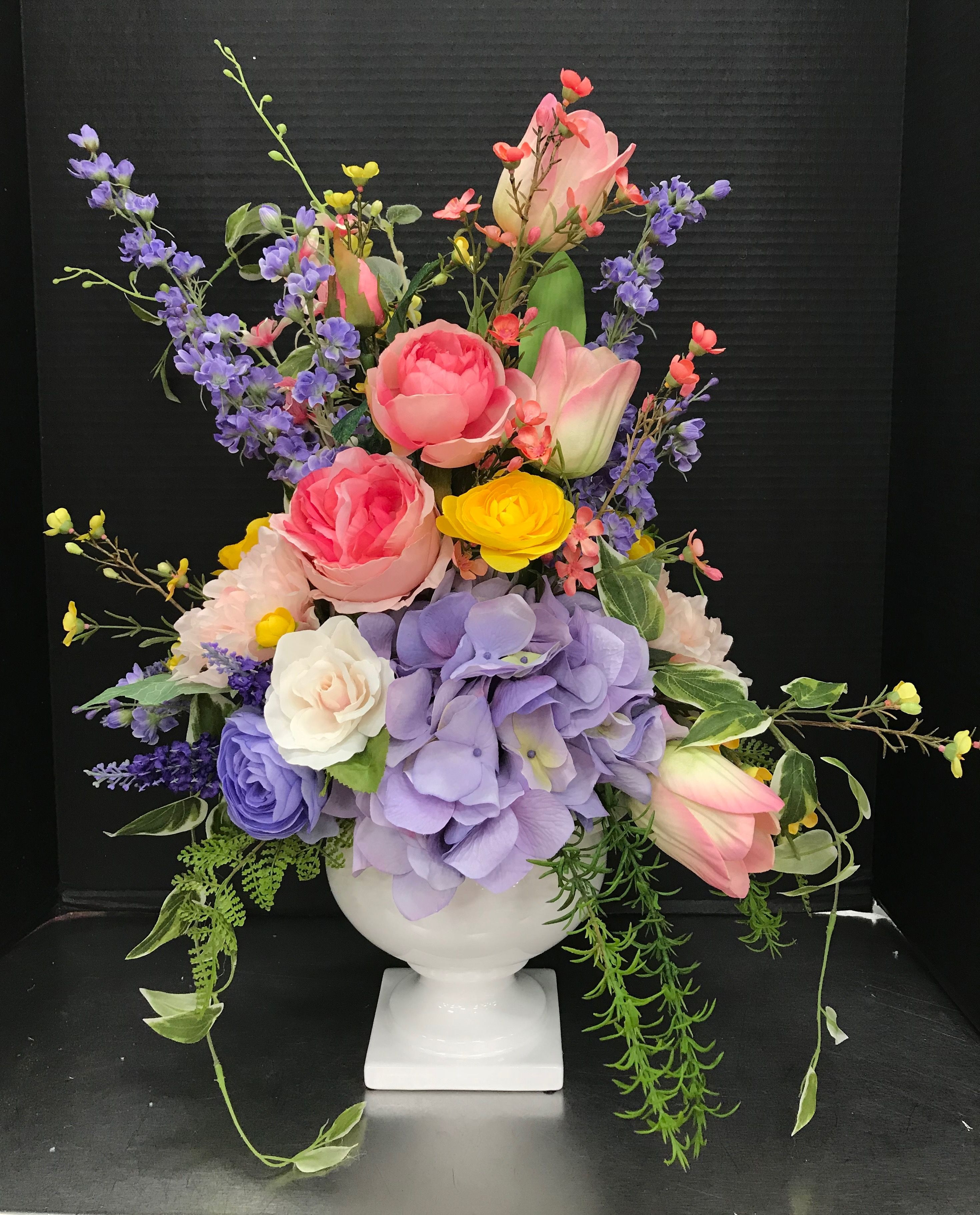 Flowers · Easter Tabletop Arrangement by Andrea