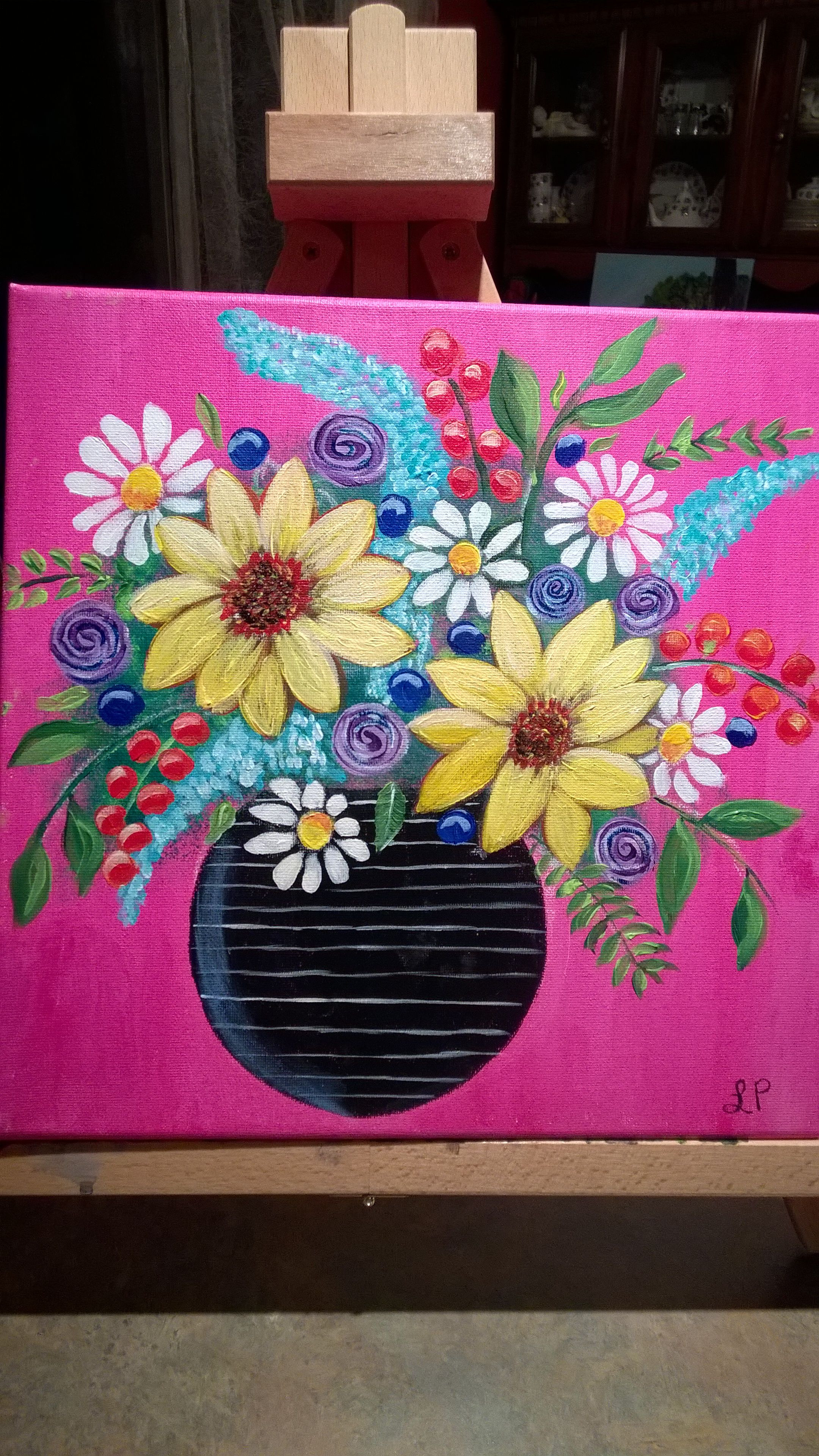 Thankful Art with Angela Anderson 3