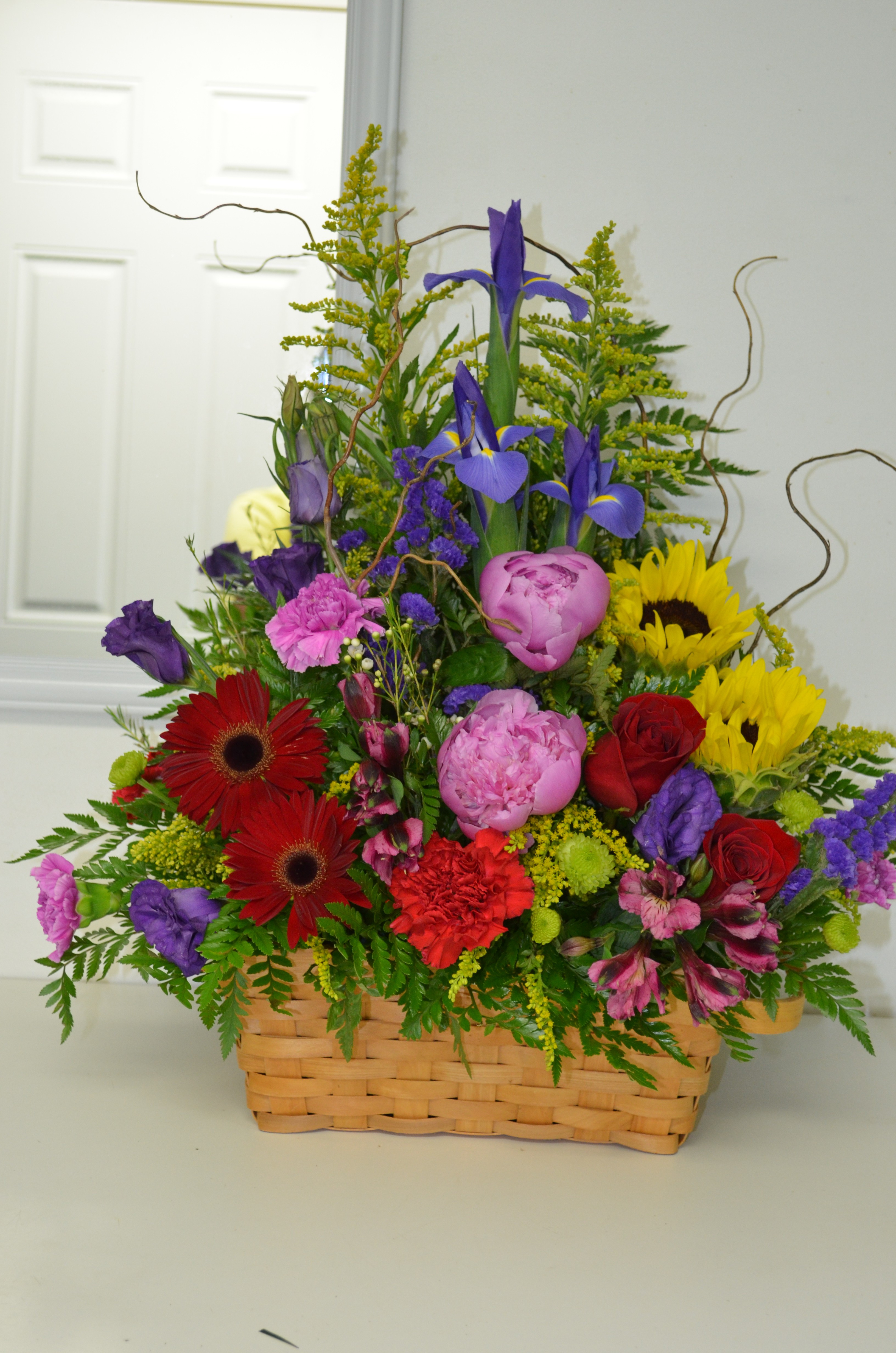 Next Day Delivery ADD TO FAVORITES Peony basket