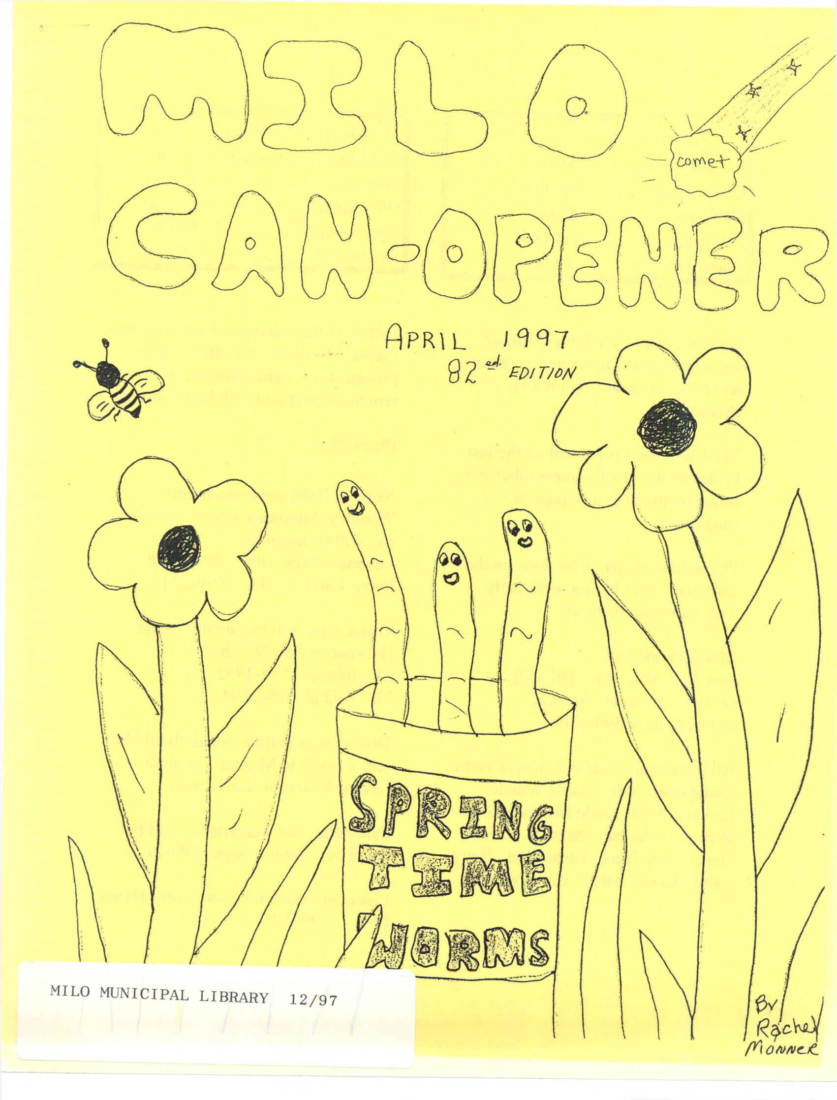 Milo Canopener April 1 1997