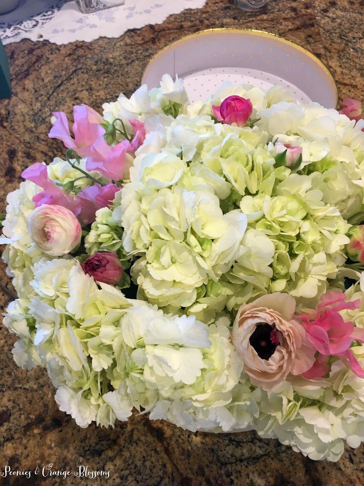 DIY tutorial on how to make a flower bloom box flower arranging tips