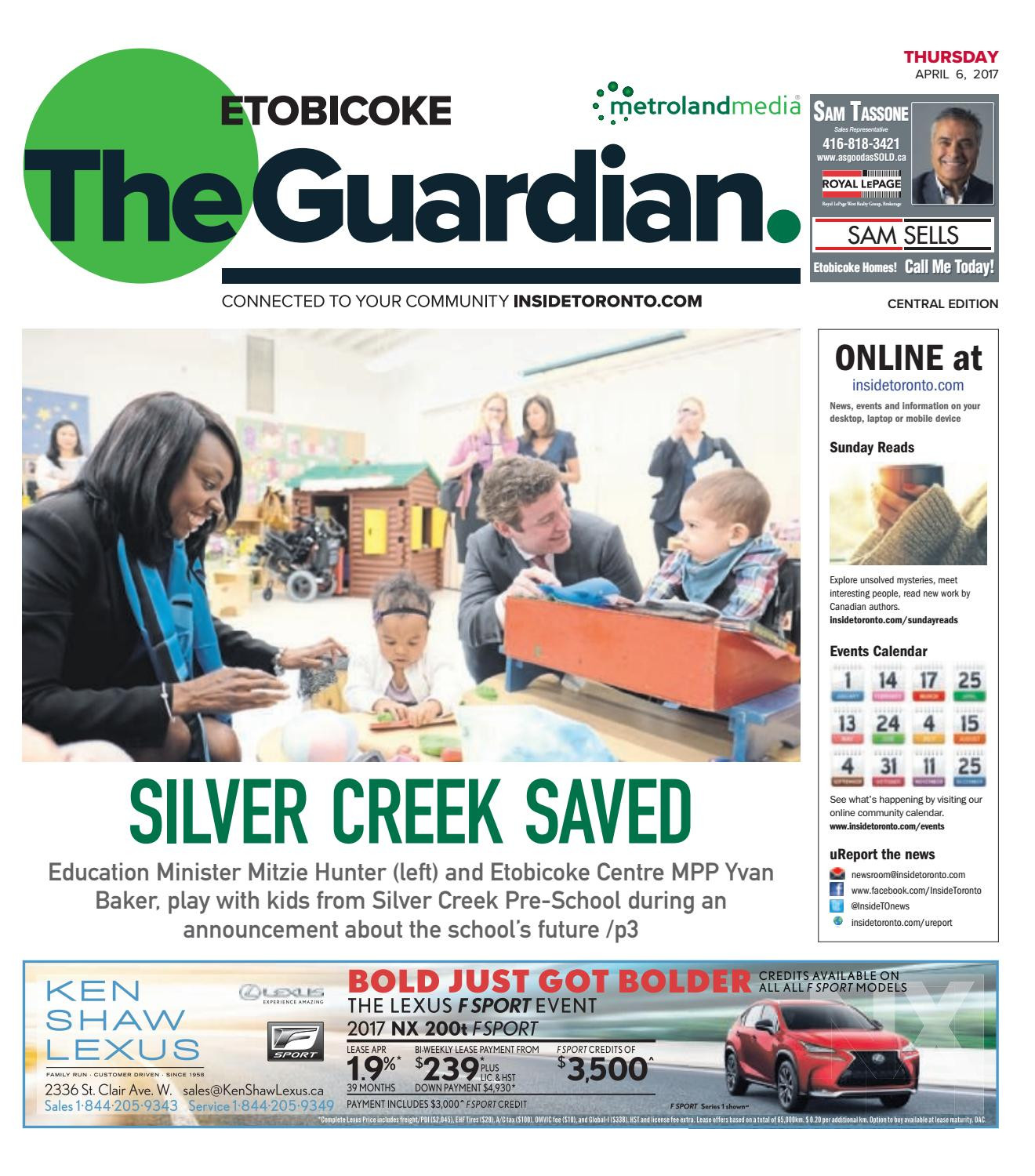 The Etobicoke Guardian Central April 6 2017 by The Etobicoke Guardian issuu