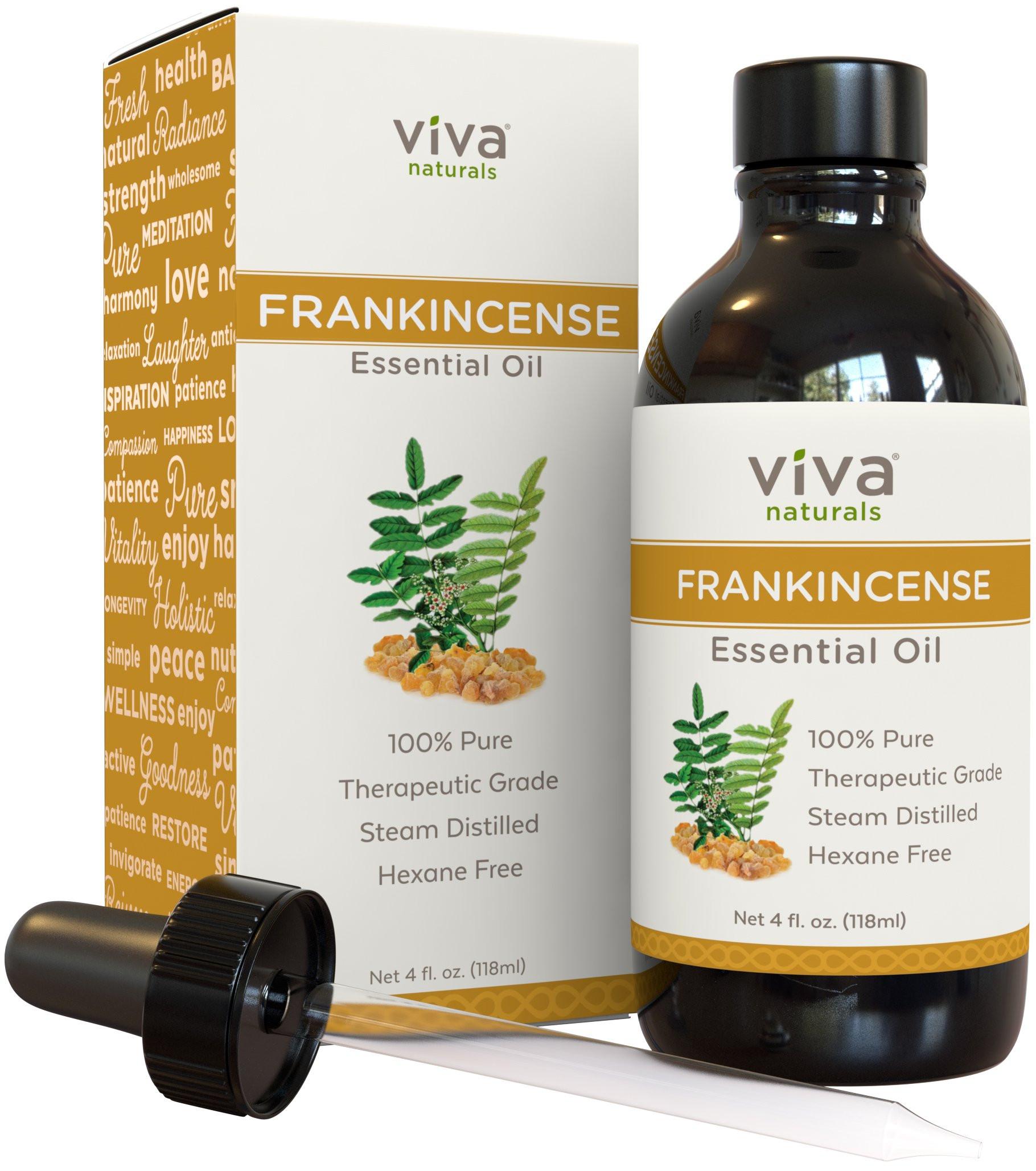 Frankincense Essential Oil 4 oz Pure Premium Extract of Boswellia Serrata