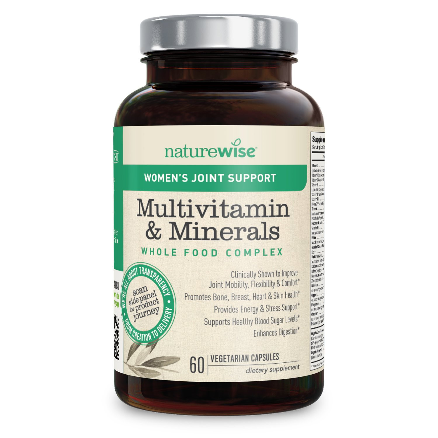 NatureWise Joint Support Multivitamin for Women — Whole Foods plex with Vitamins & Minerals for Healthy