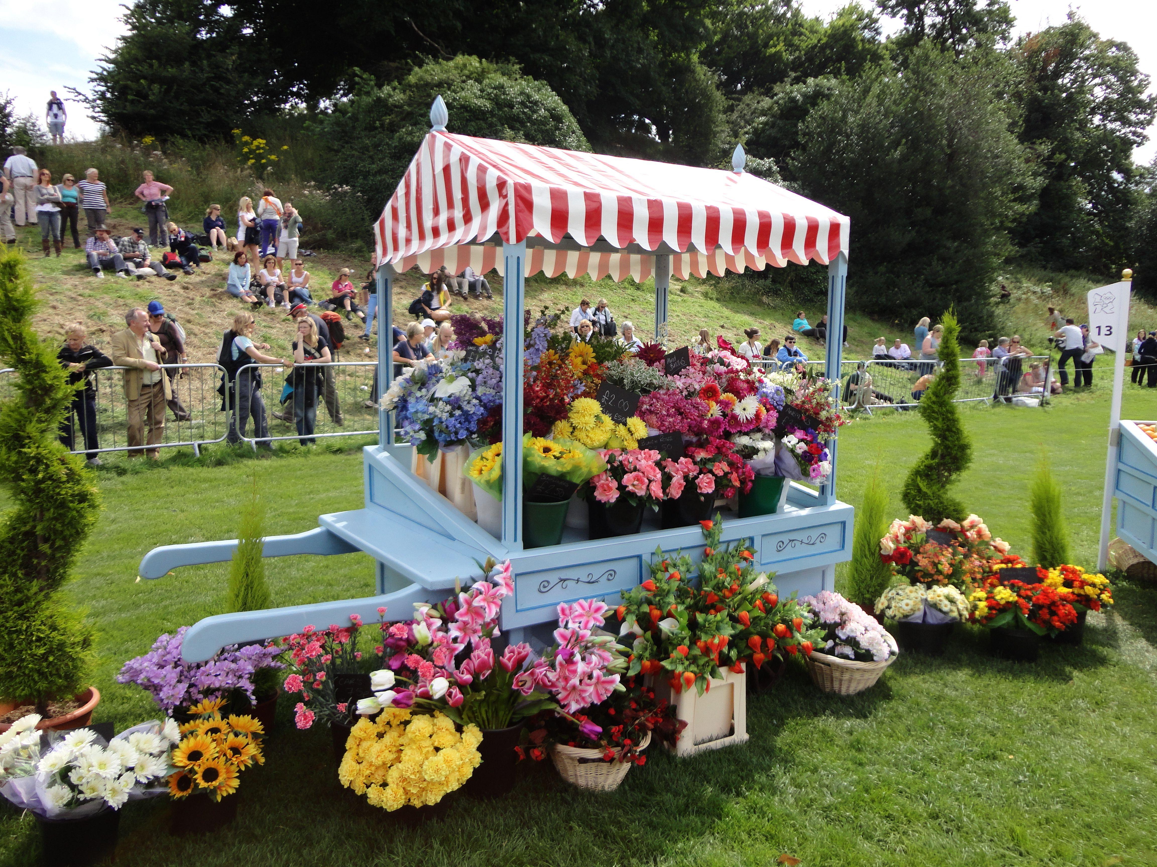 flower stall More