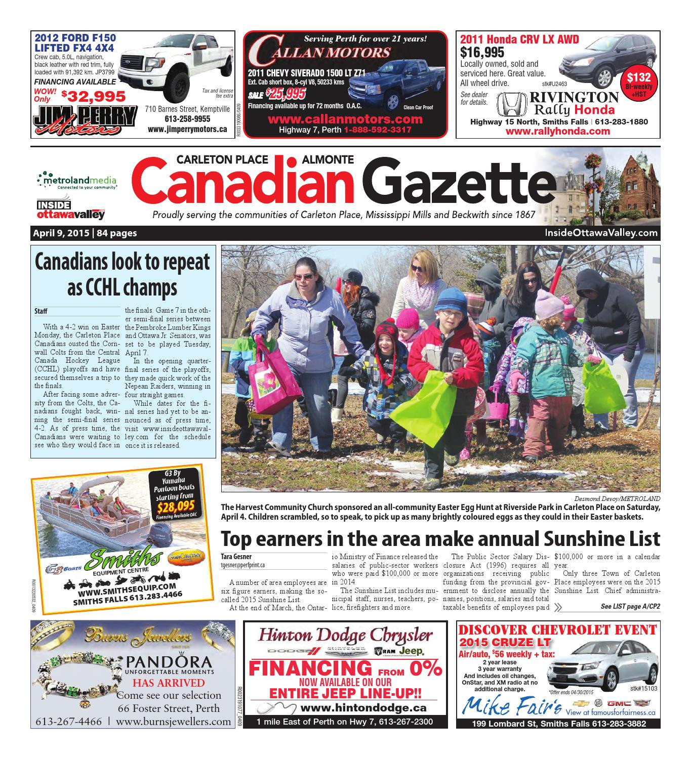 Almontecarletonplace by Metroland East Almonte Carleton Place Canadian Gazette issuu