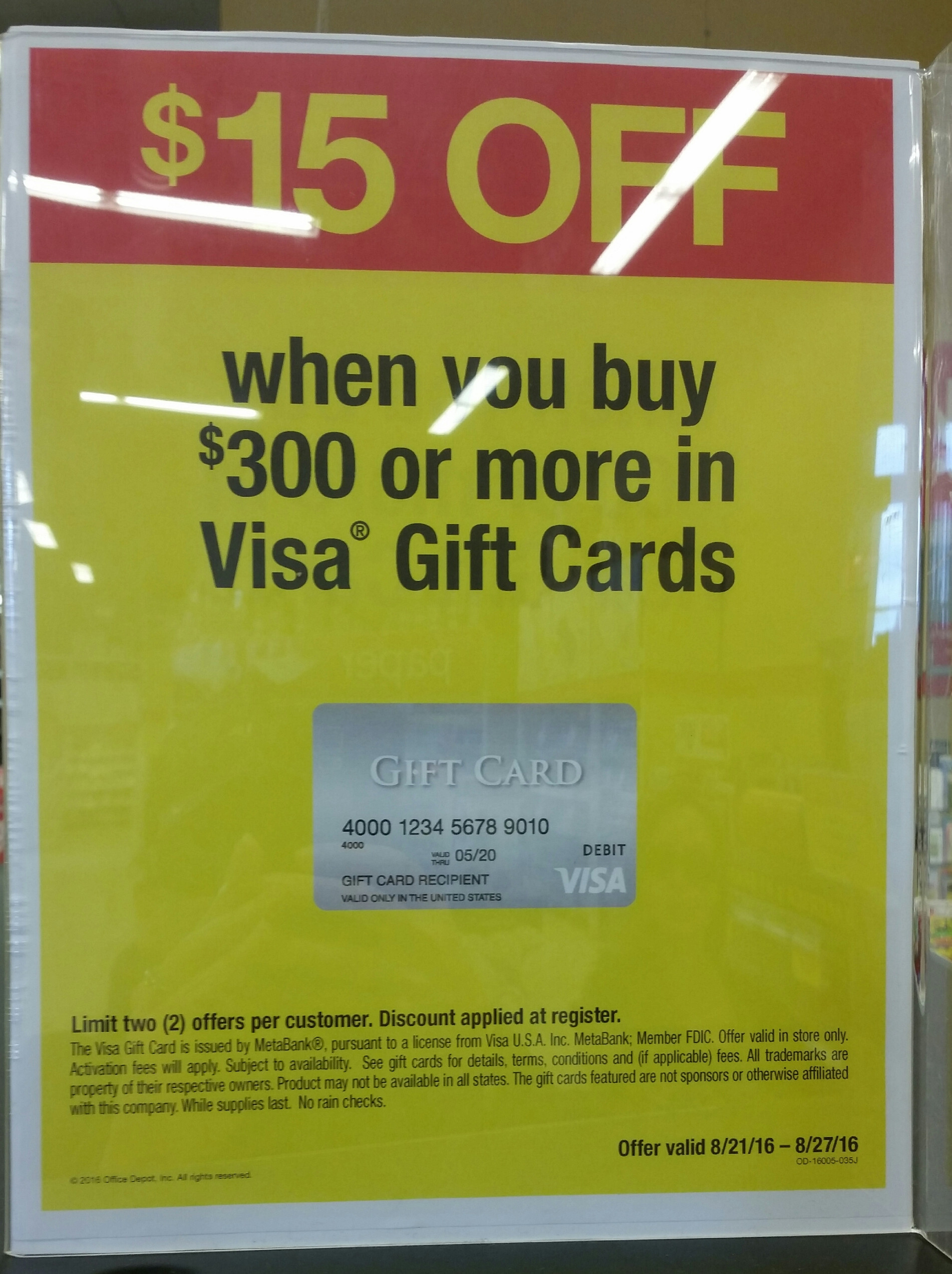 Highest Visa Gift Card Amount Beautiful $15 F $300 Purchase Visa Gift Cards at Ficemax