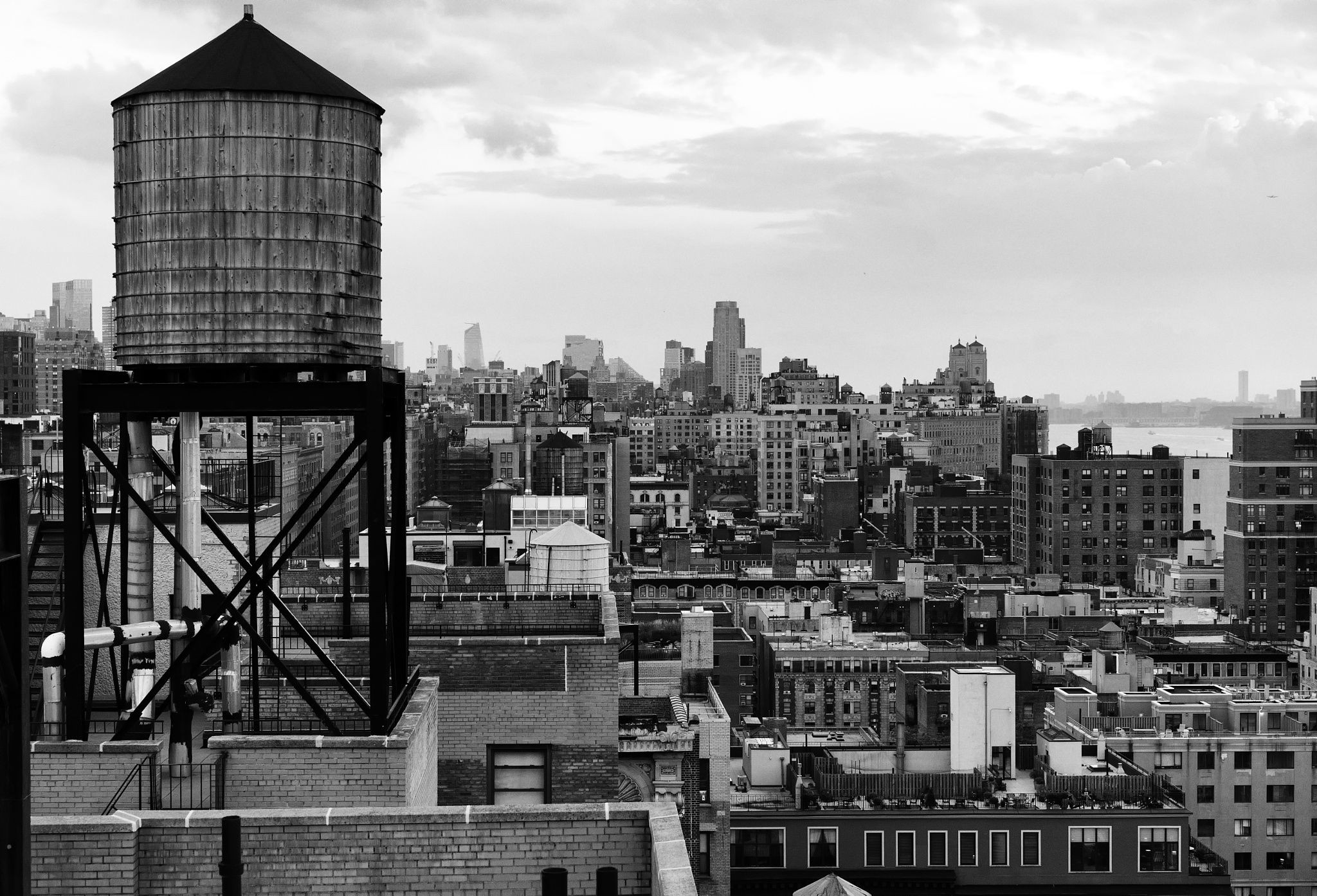 Water Tower View II Manhattan s Upper West Side