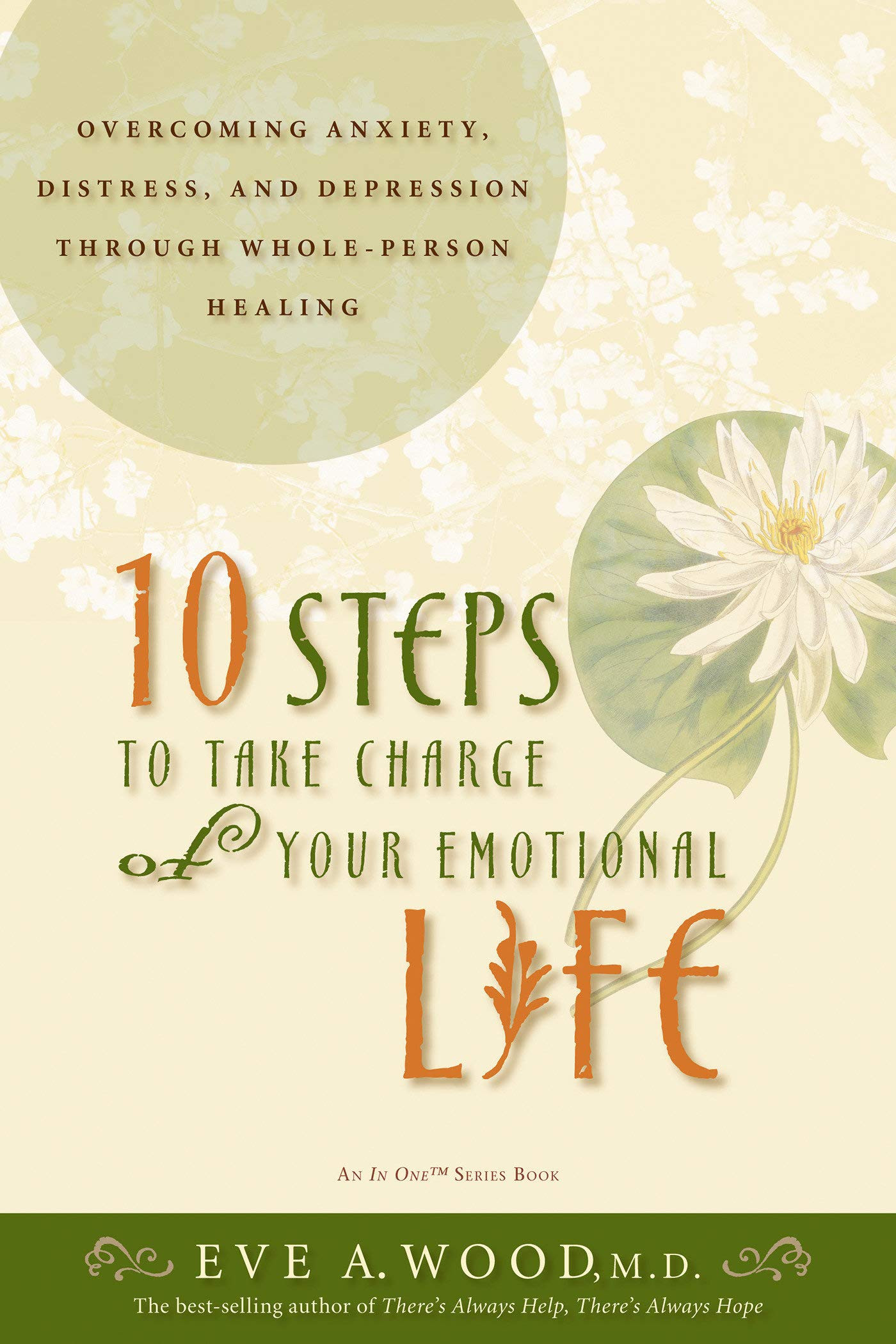 10 Steps to Take Charge of Your Emotional Life Over ing Anxiety Distress and Depression Through Whole Person Healing In e Eve A Wood