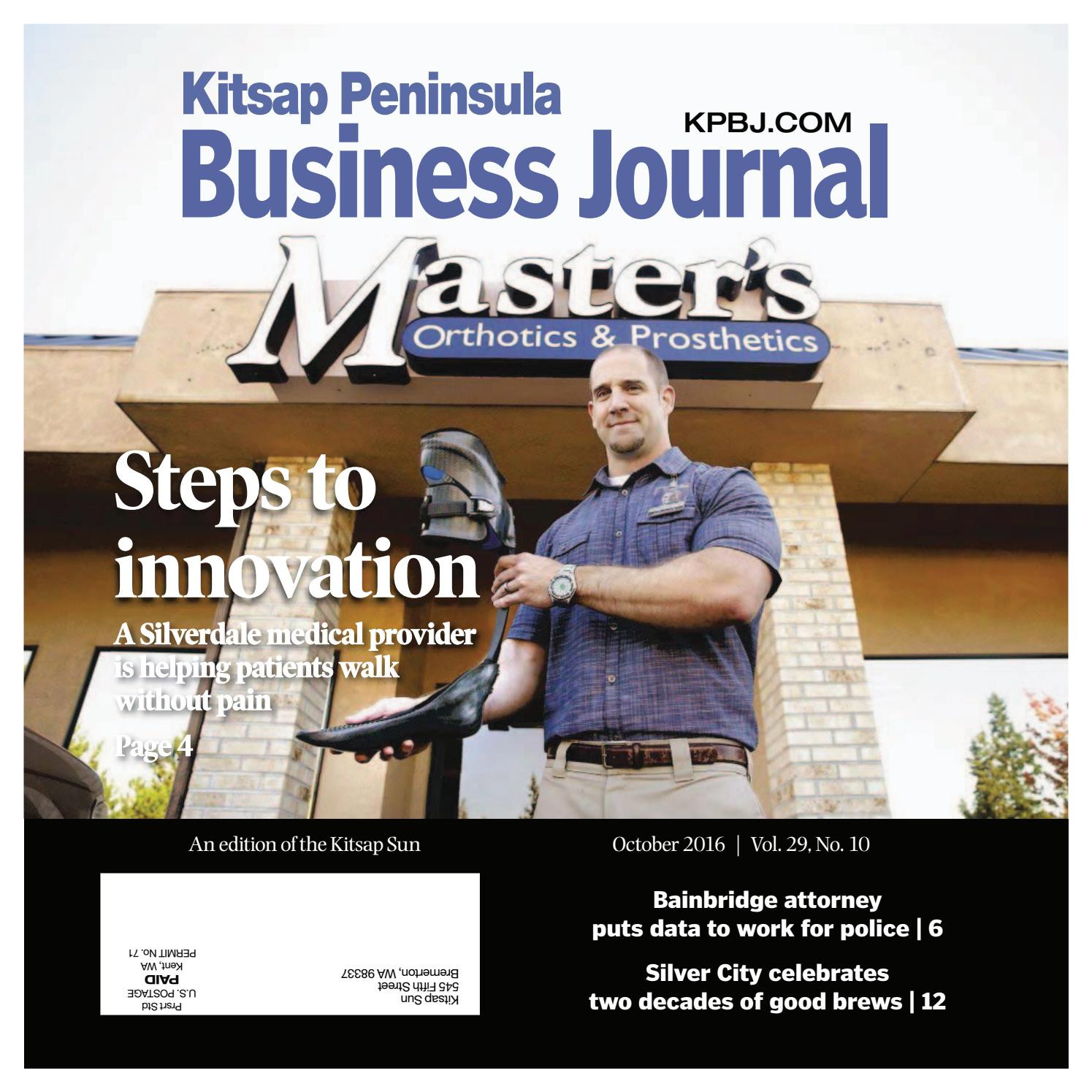 Kitsap Peninsula Business Journal October 2016 by Kitsap Sun Digital issuu