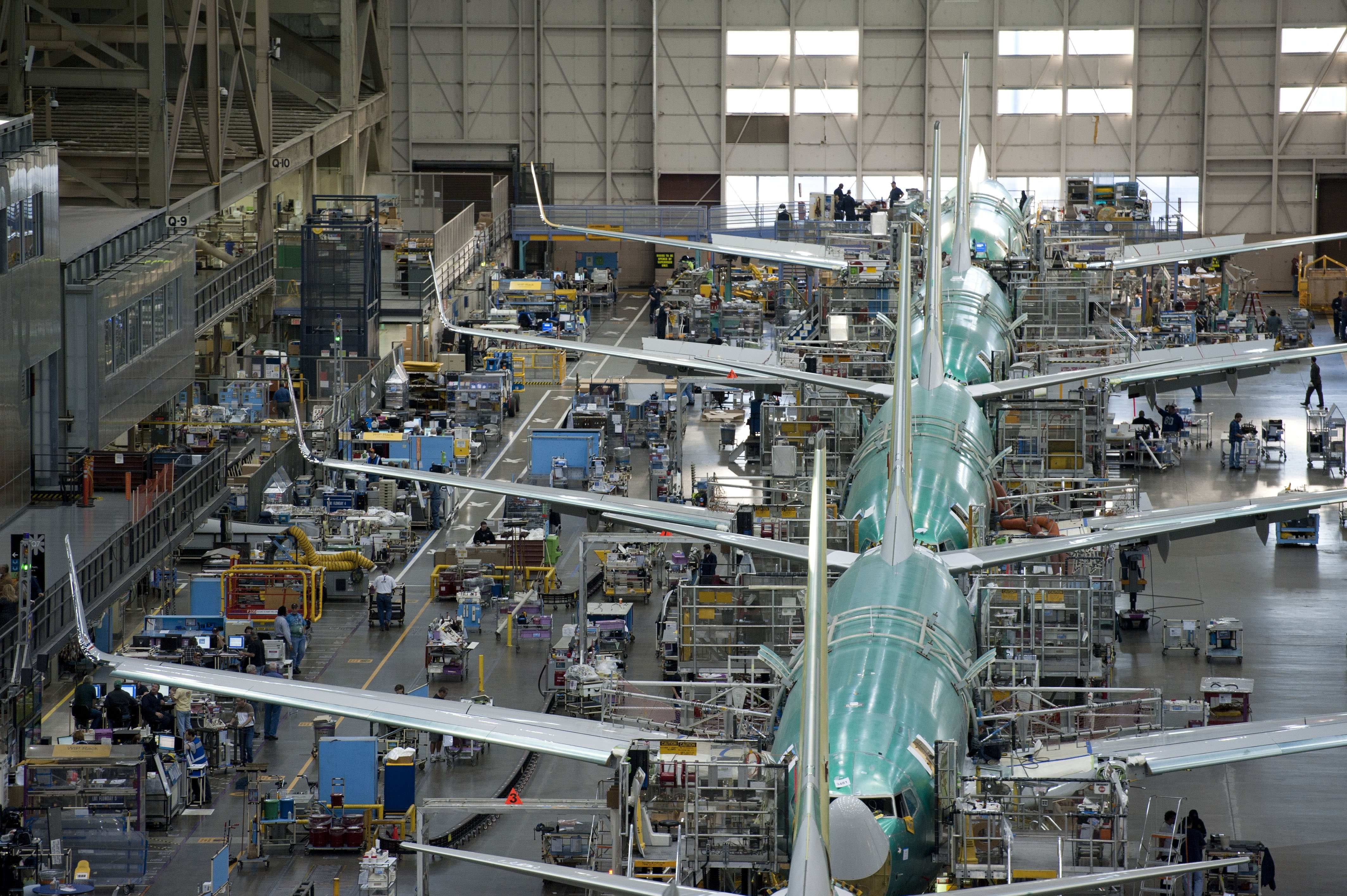 All Boeing 737 final assembly now takes place in Renton Washington