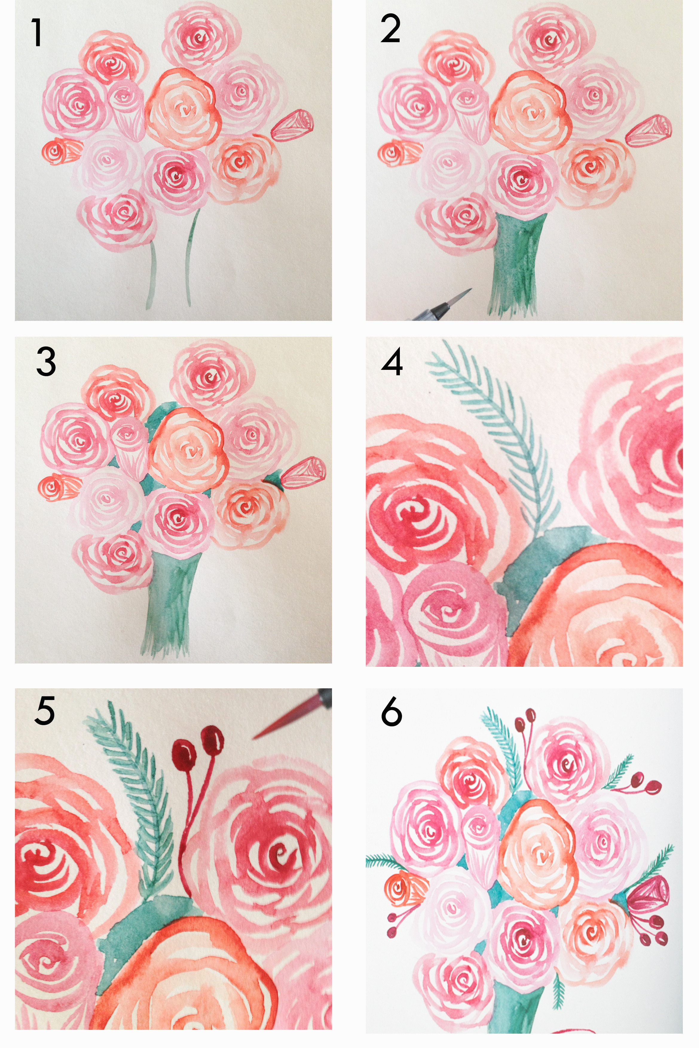 6 Inspirational Drawing Flowers for Beginners Pics