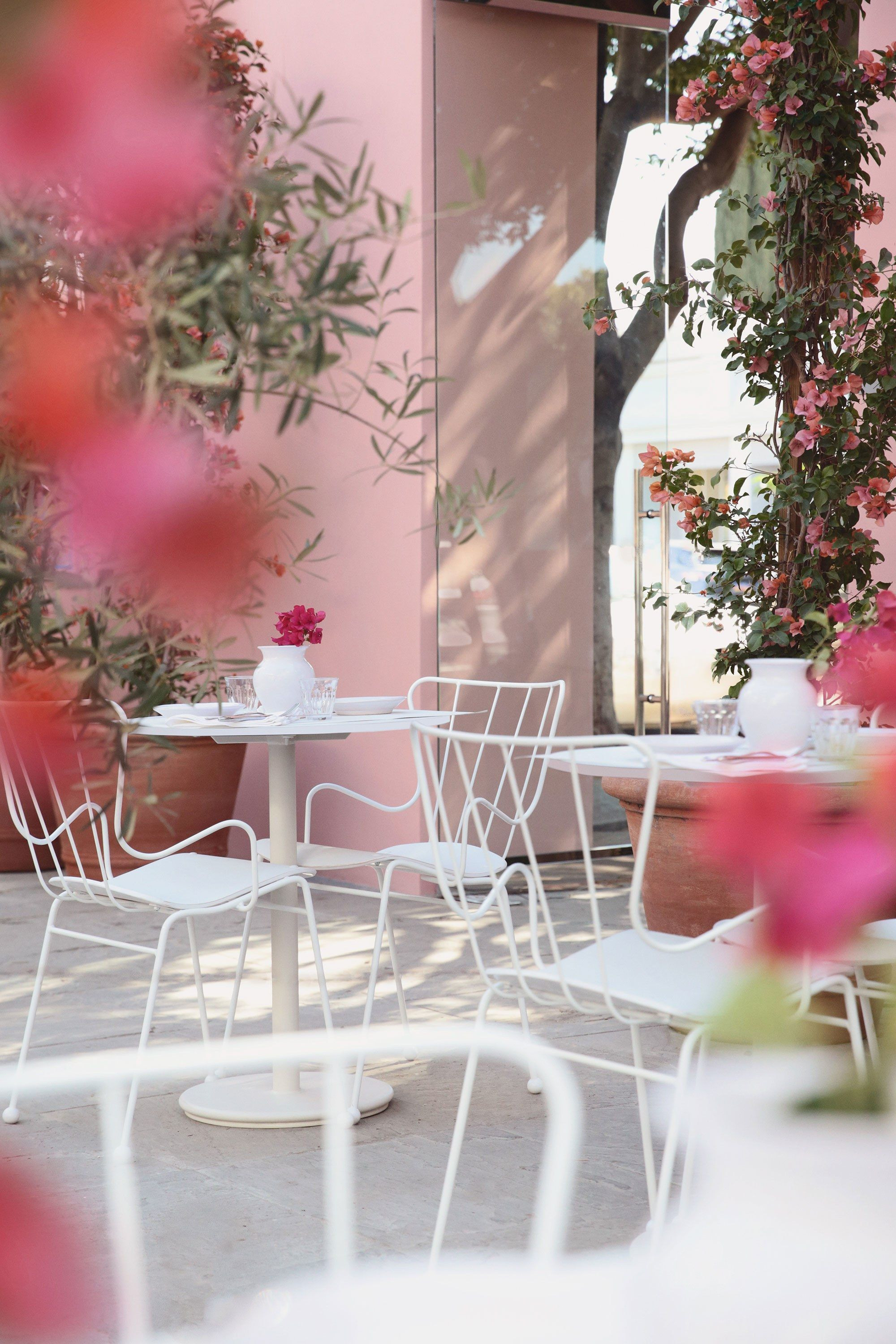 Café Flora at the new Mansur Gavriel shop in LA