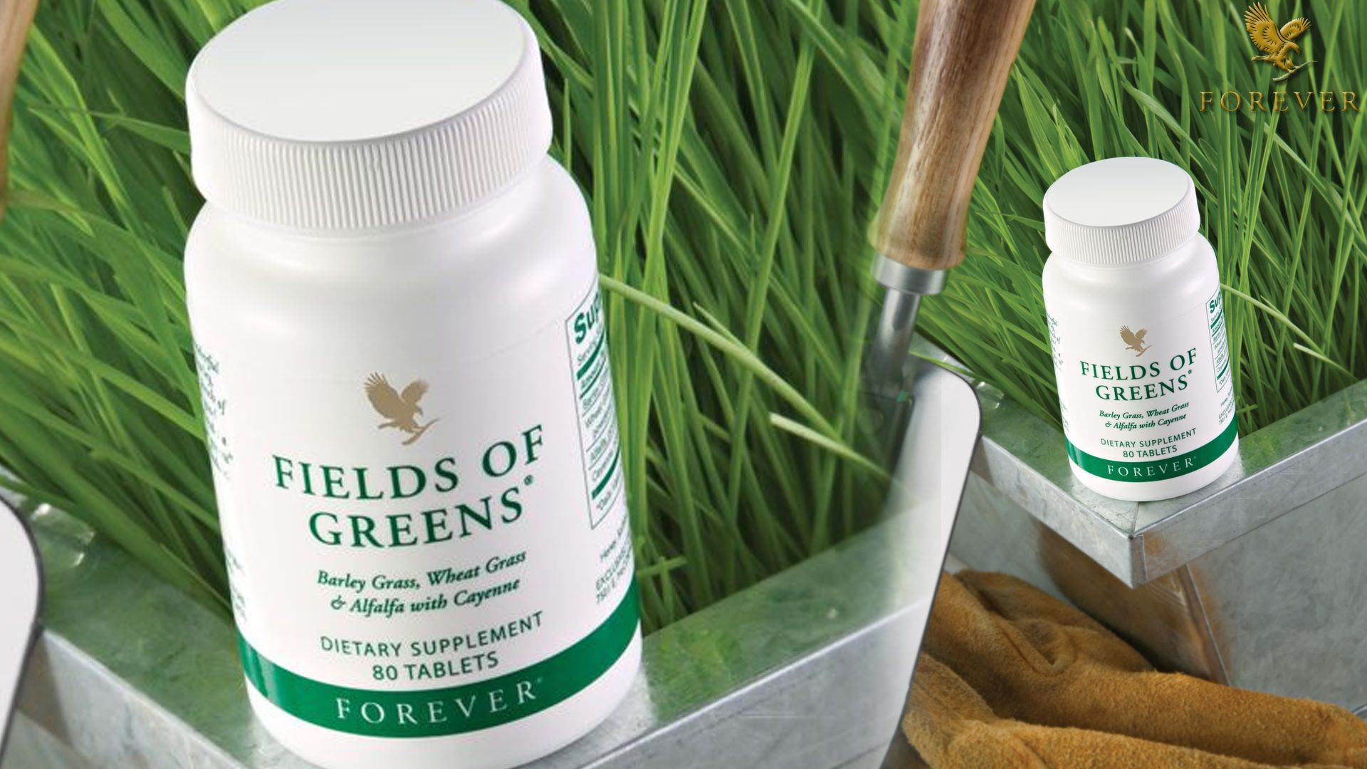 Forever fields of green 80 no s Vitamins Tablets