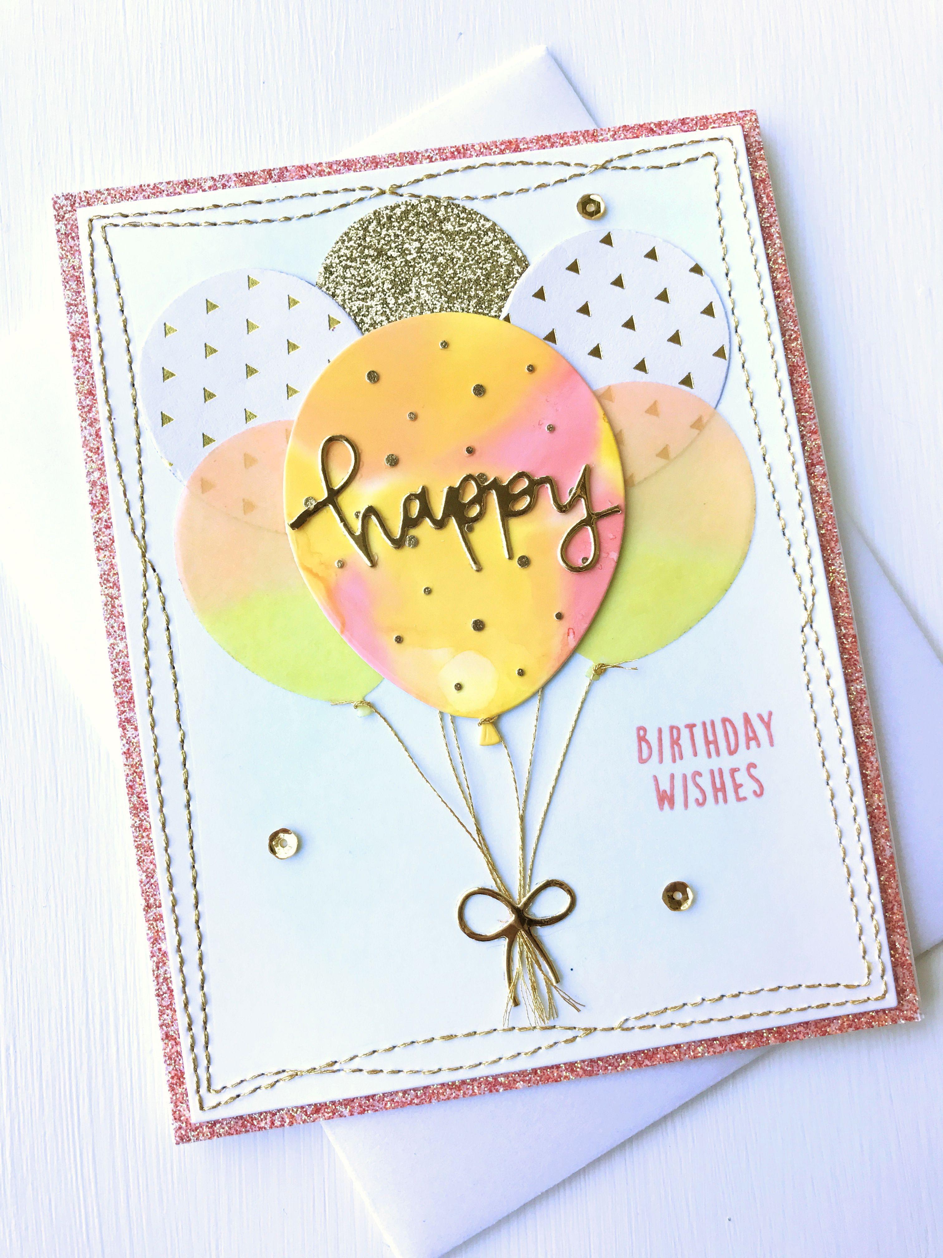 Concord & 9th Happy Ballons card