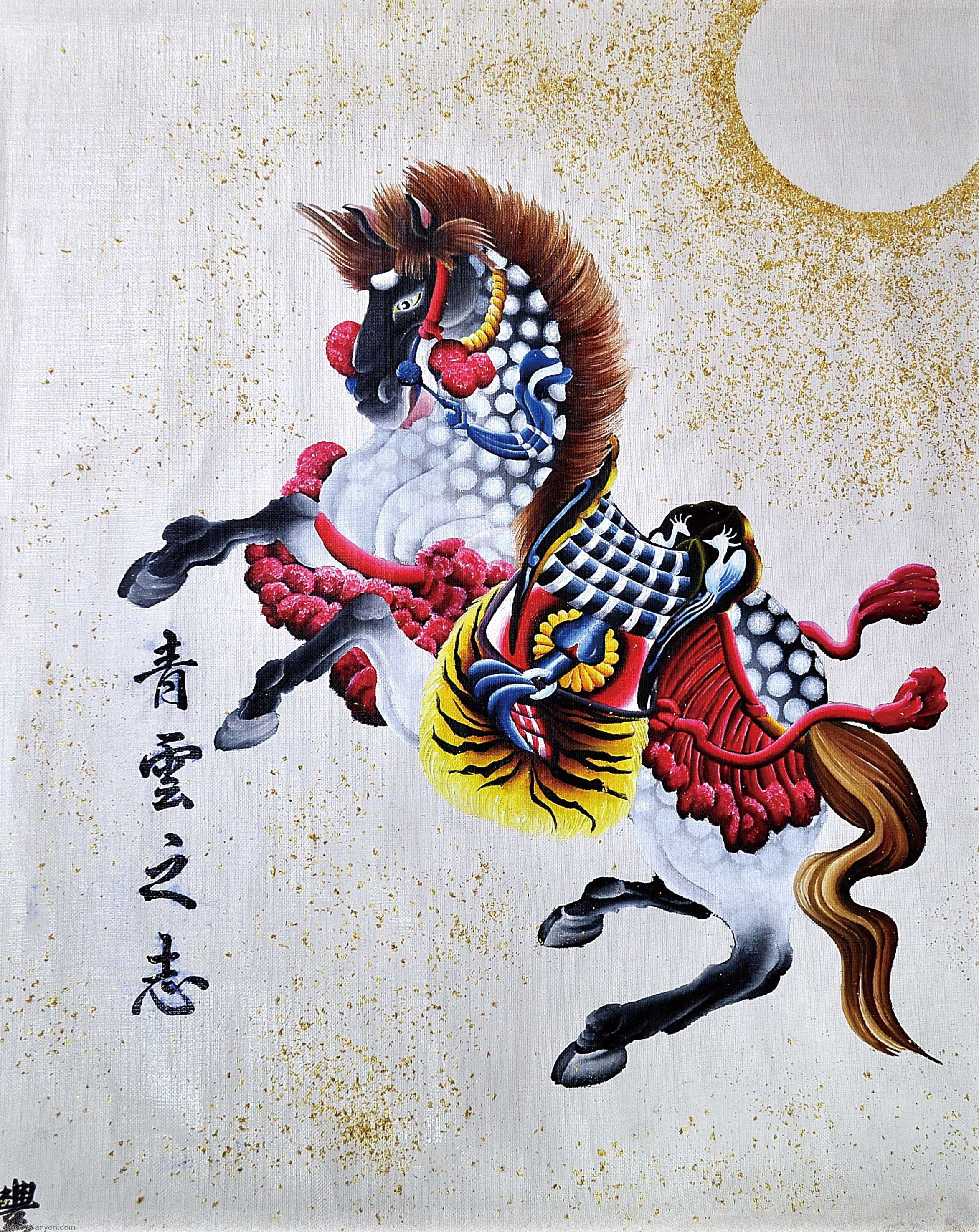 Japanese Horse Horitoyo Traditional Tattoos picture 3847