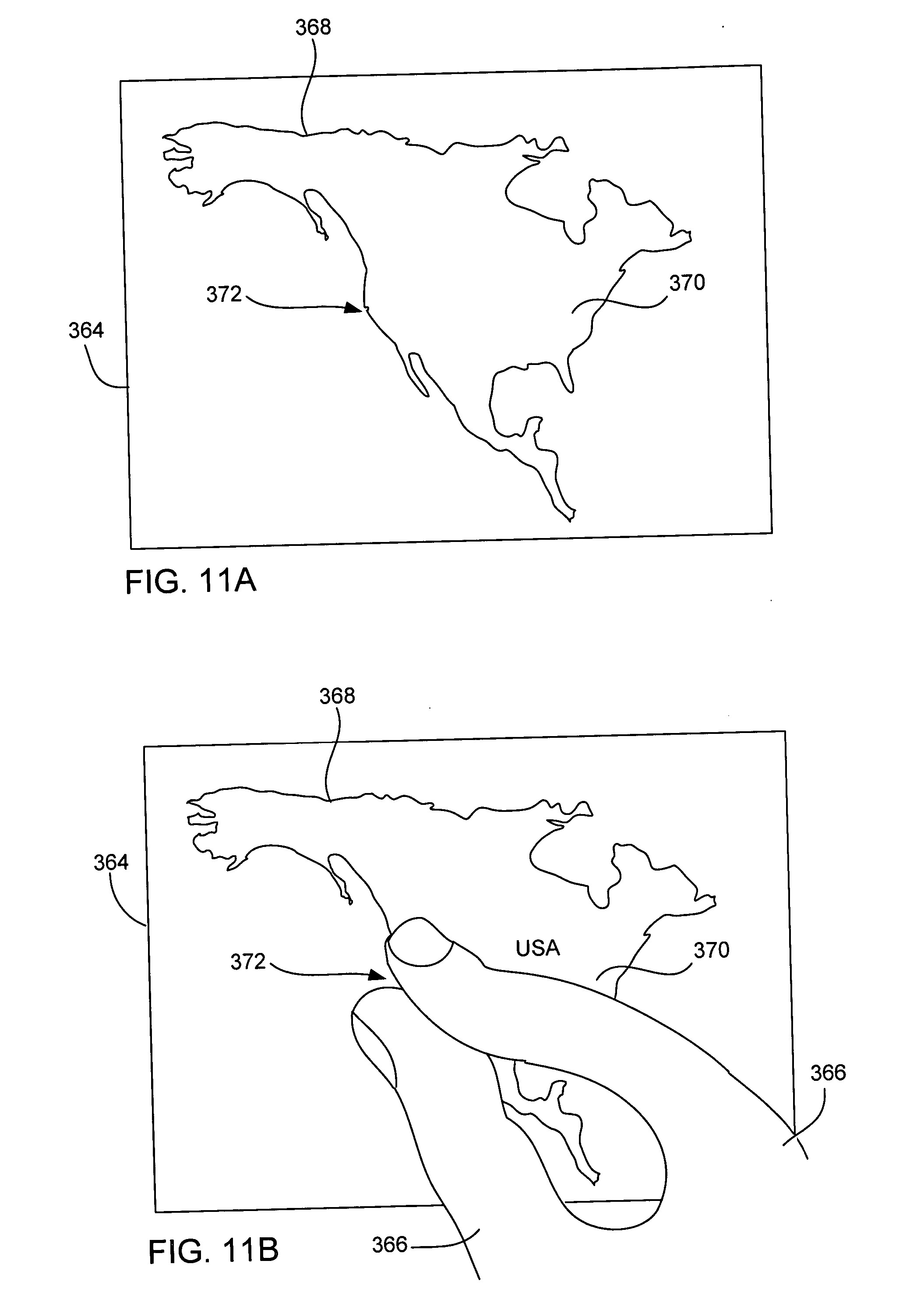 US A1 Mode based graphical user interfaces for touch sensitive input devices Google Patents