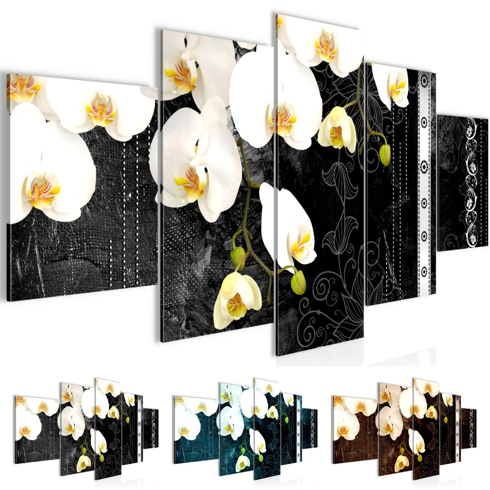 Wandbilder Blumen Orchidee Vlies Leinwand Bild Xxl Bilder Kunstdruck p