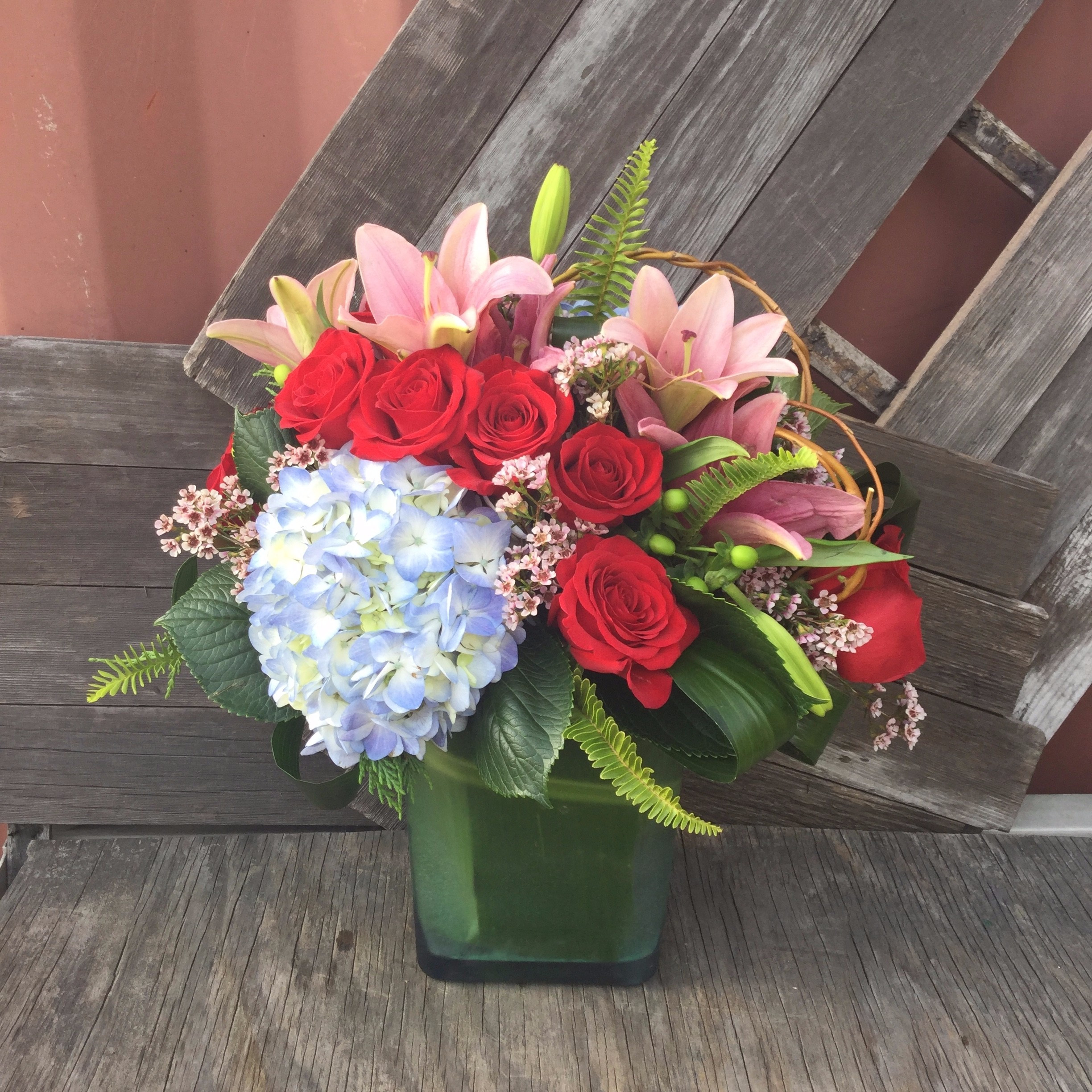 Next Day Delivery ADD TO FAVORITES Extravagant Blooms