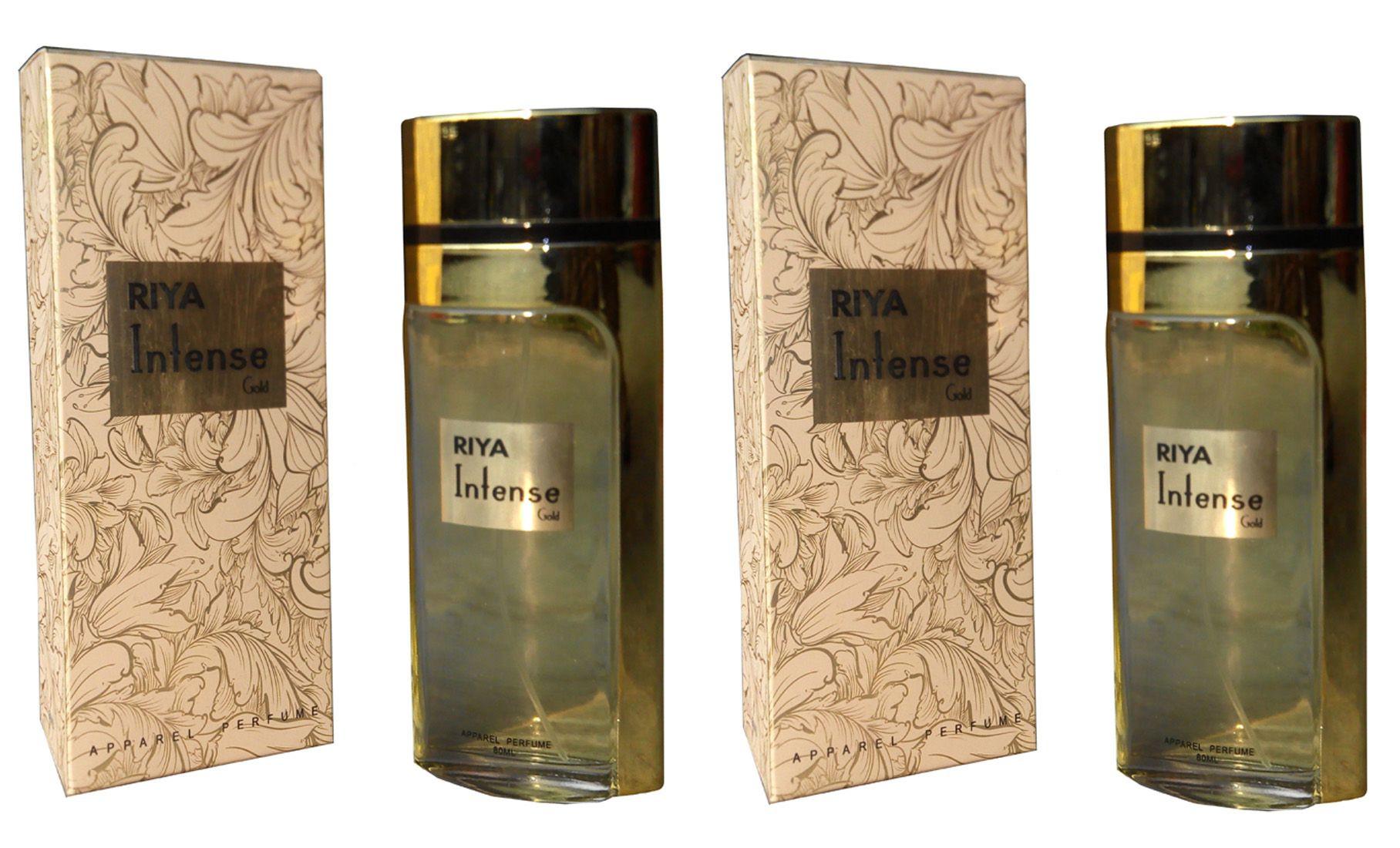 Riya intese gold Perfume for uni bo of 2 100 ml