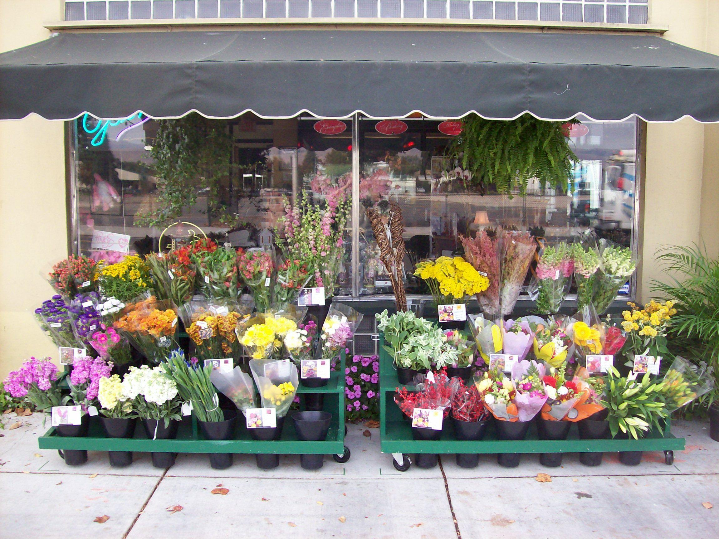 dollhouse miniature flowershop ideas