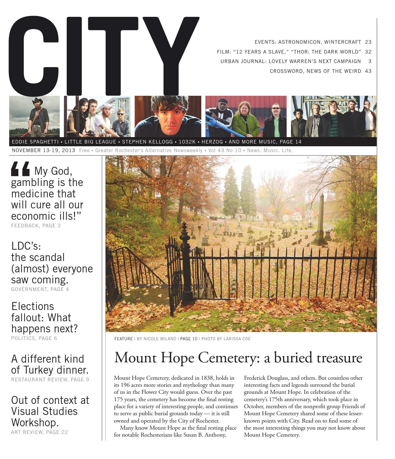 November 13 19 2013 City Newspaper by Rochester City Newspaper issuu