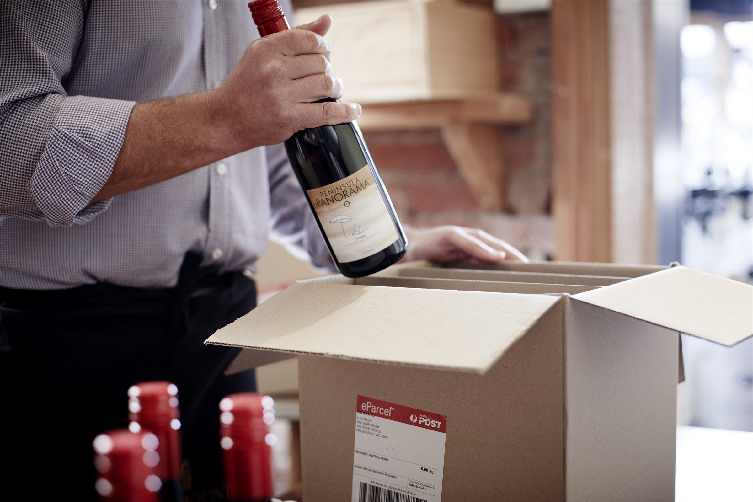 wine deliveries