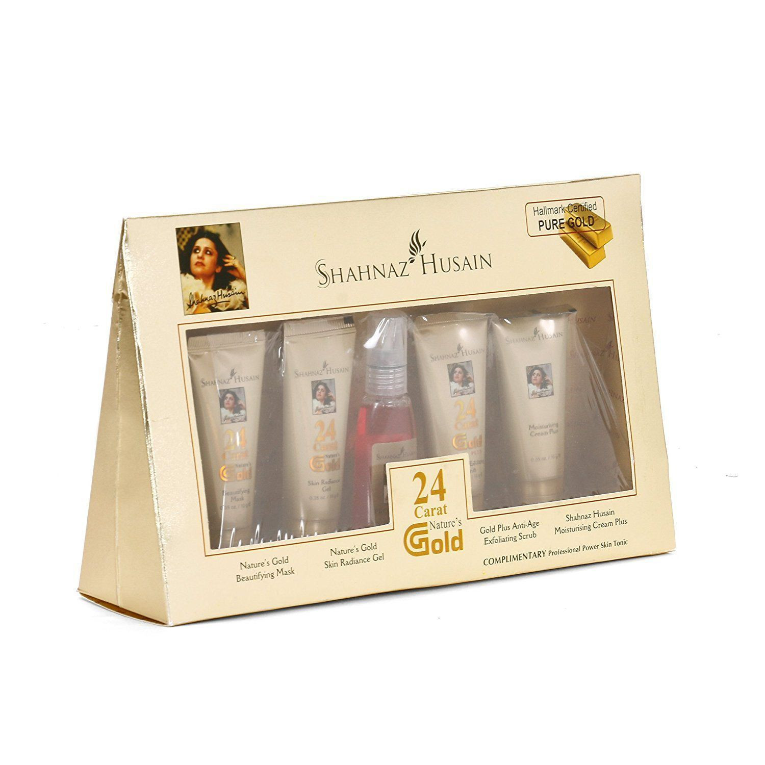 Shahnaz Husain Gold Facial Kit 40g 15ml Pack of 5