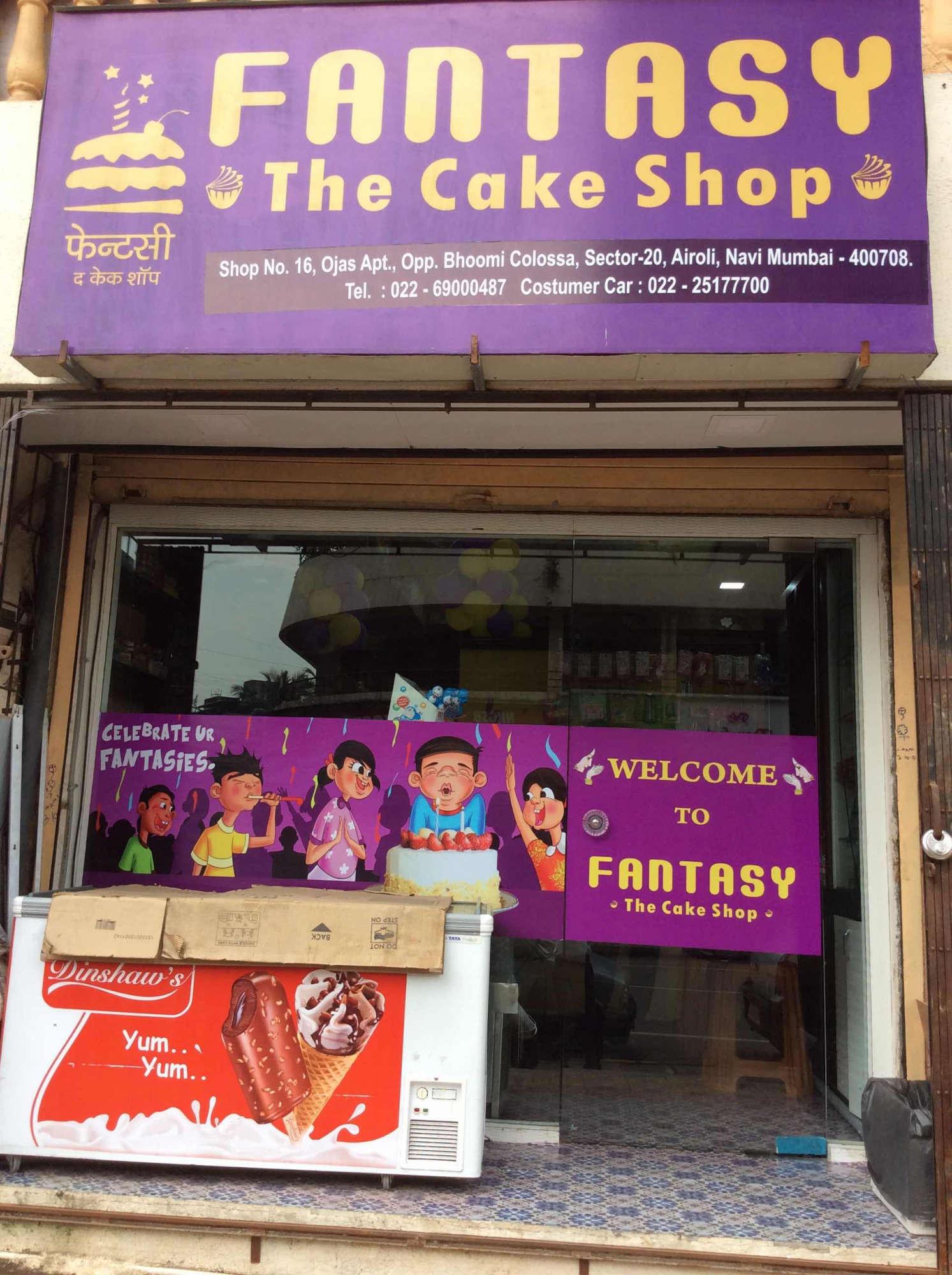 fantasy the cake shop navi mumbai cjbca